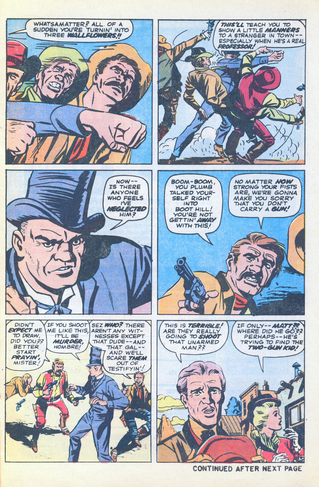 Read online Two-Gun Kid comic -  Issue #116 - 9