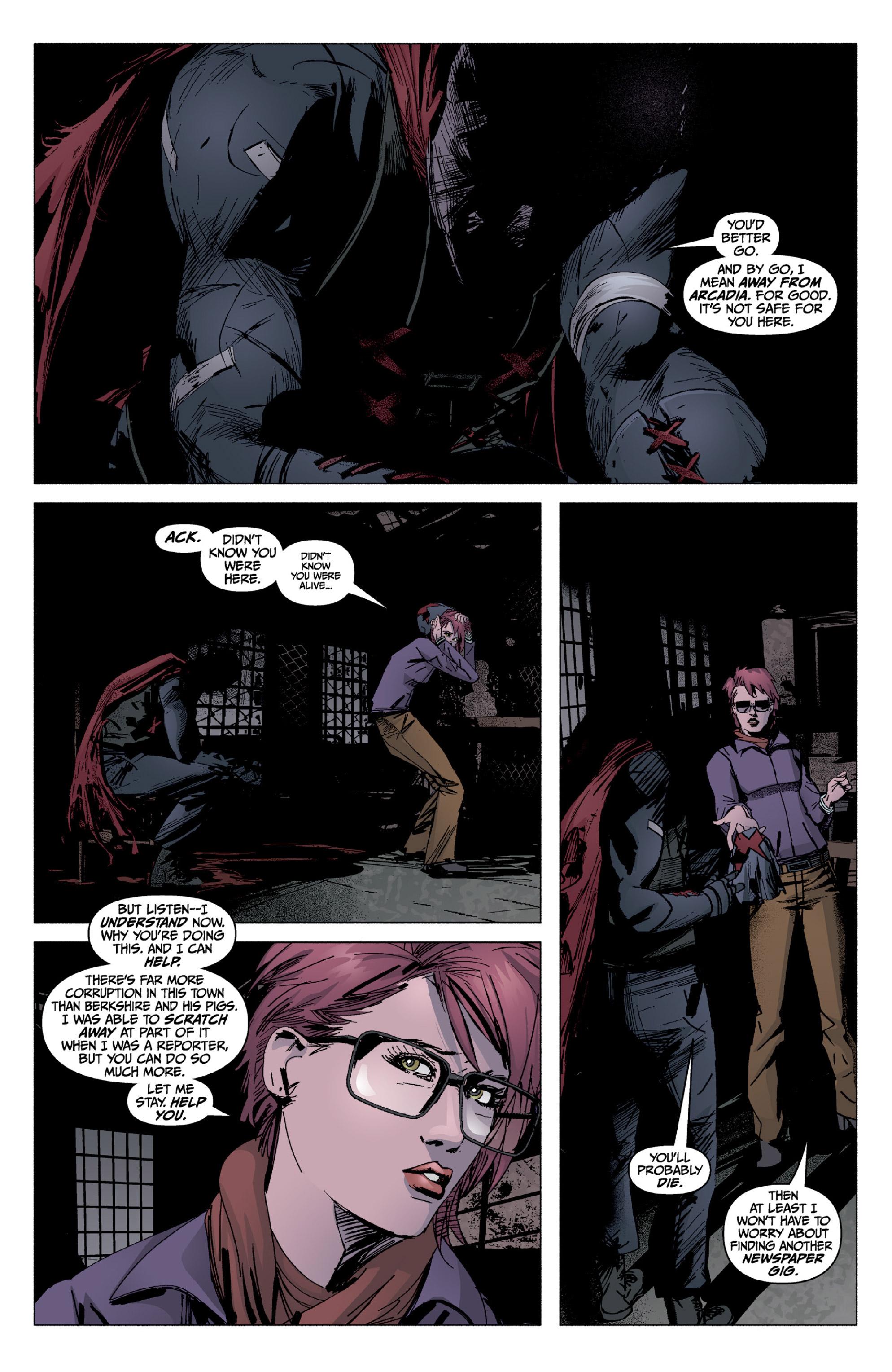 Read online X: Big Bad comic -  Issue # Full - 124