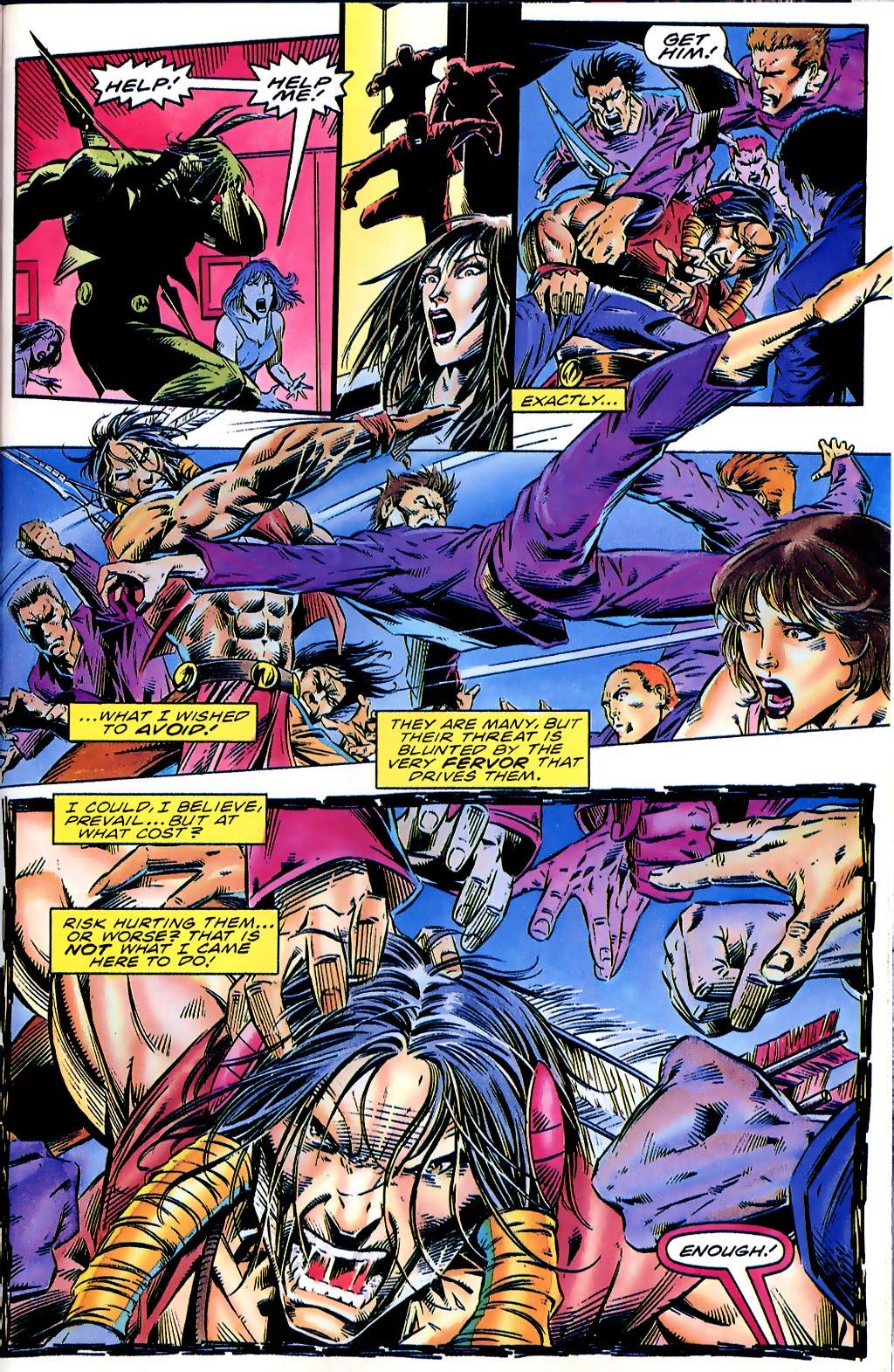 Read online Turok, Dinosaur Hunter (1993) comic -  Issue #41 - 20