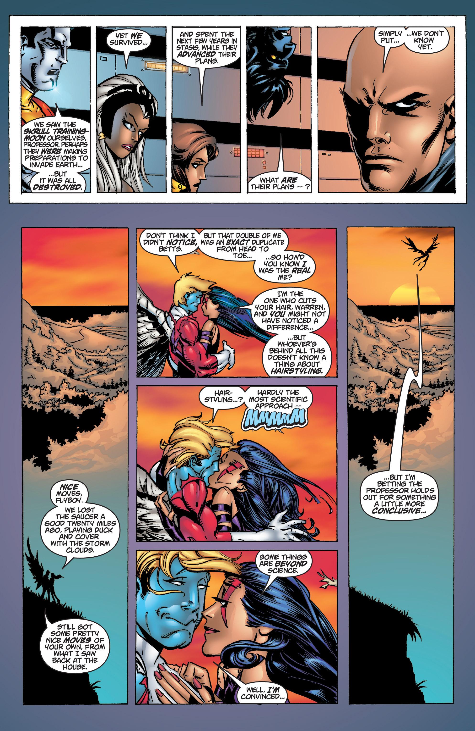 Read online Uncanny X-Men (1963) comic -  Issue #375 - 32