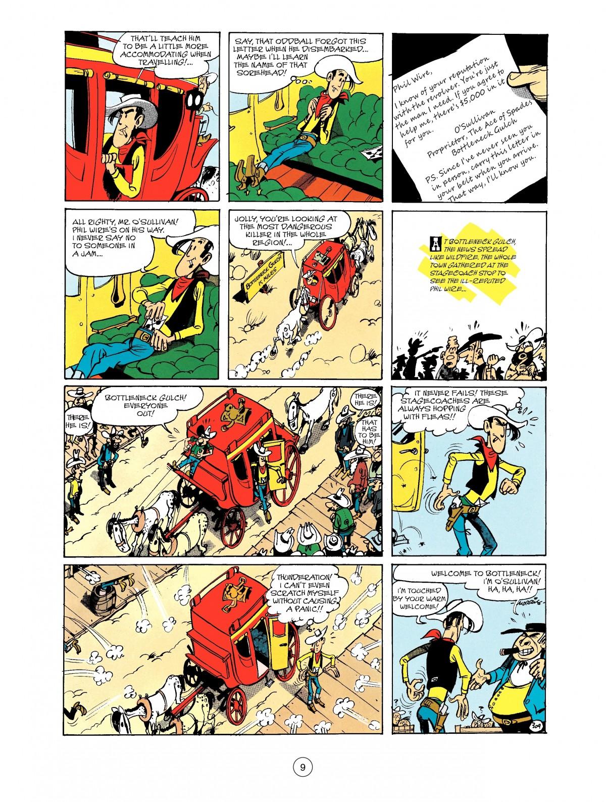 Read online A Lucky Luke Adventure comic -  Issue #40 - 9