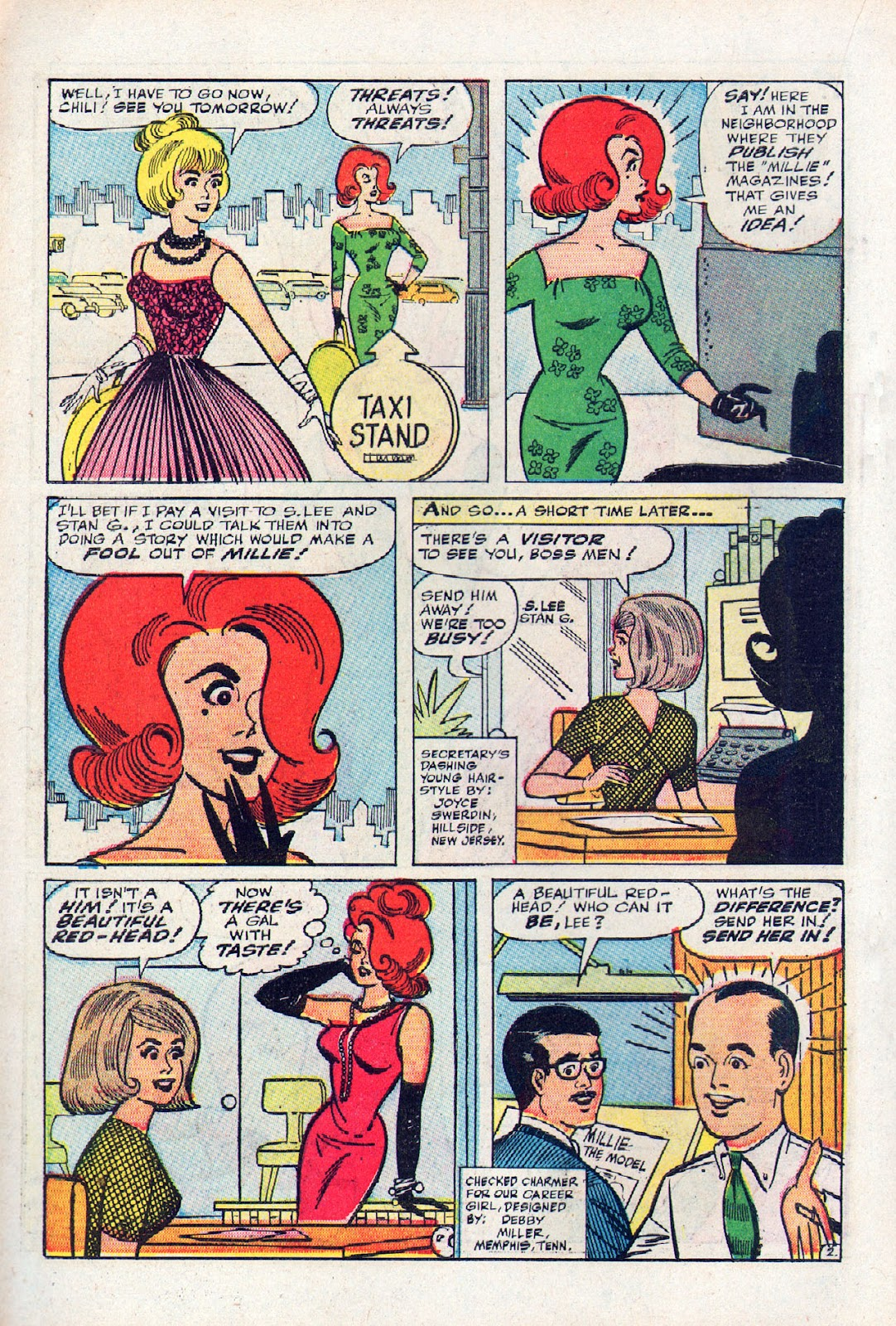 Read online Millie the Model comic -  Issue # Annual 2 - 62