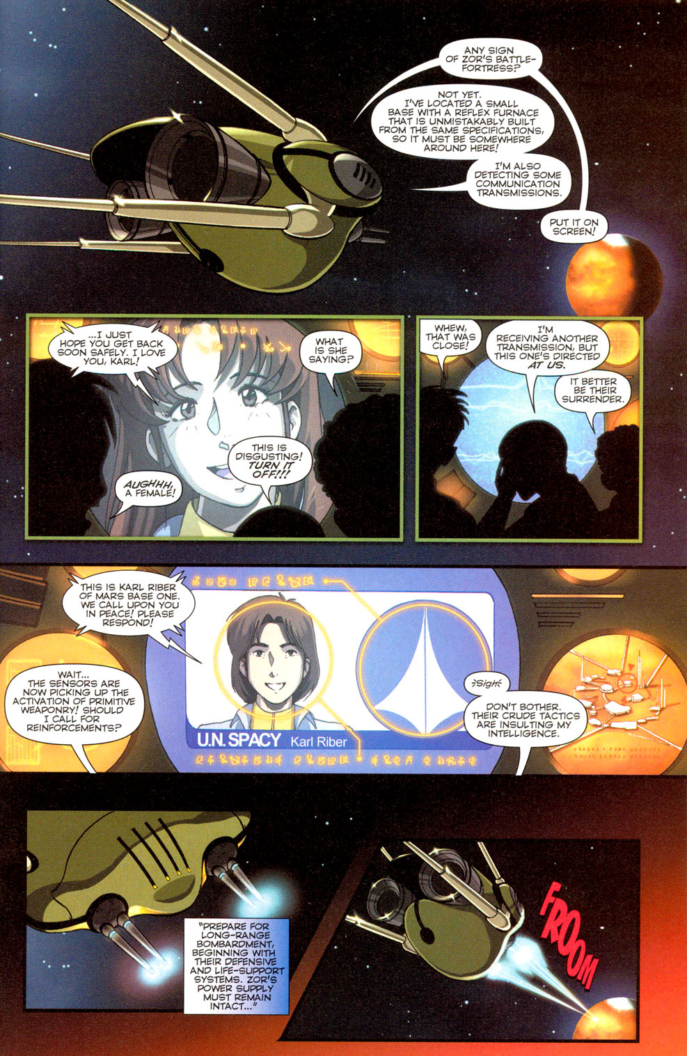 Read online Robotech: Invasion comic -  Issue #3 - 20