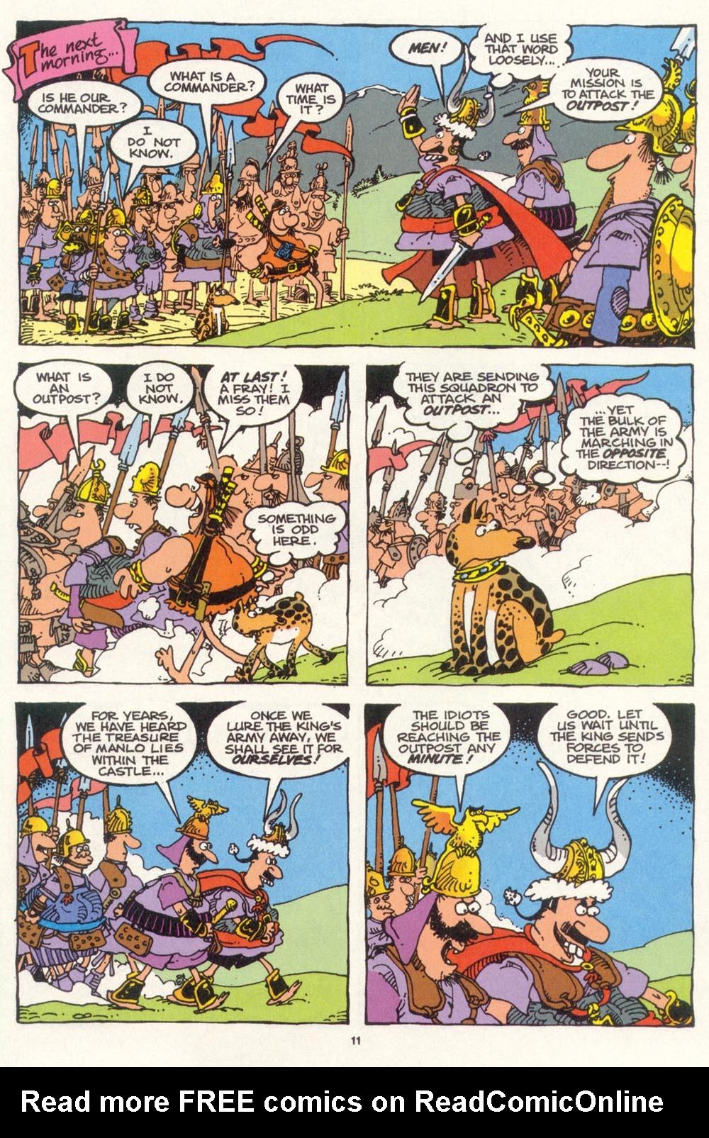 Read online Sergio Aragonés Groo the Wanderer comic -  Issue #100 - 12
