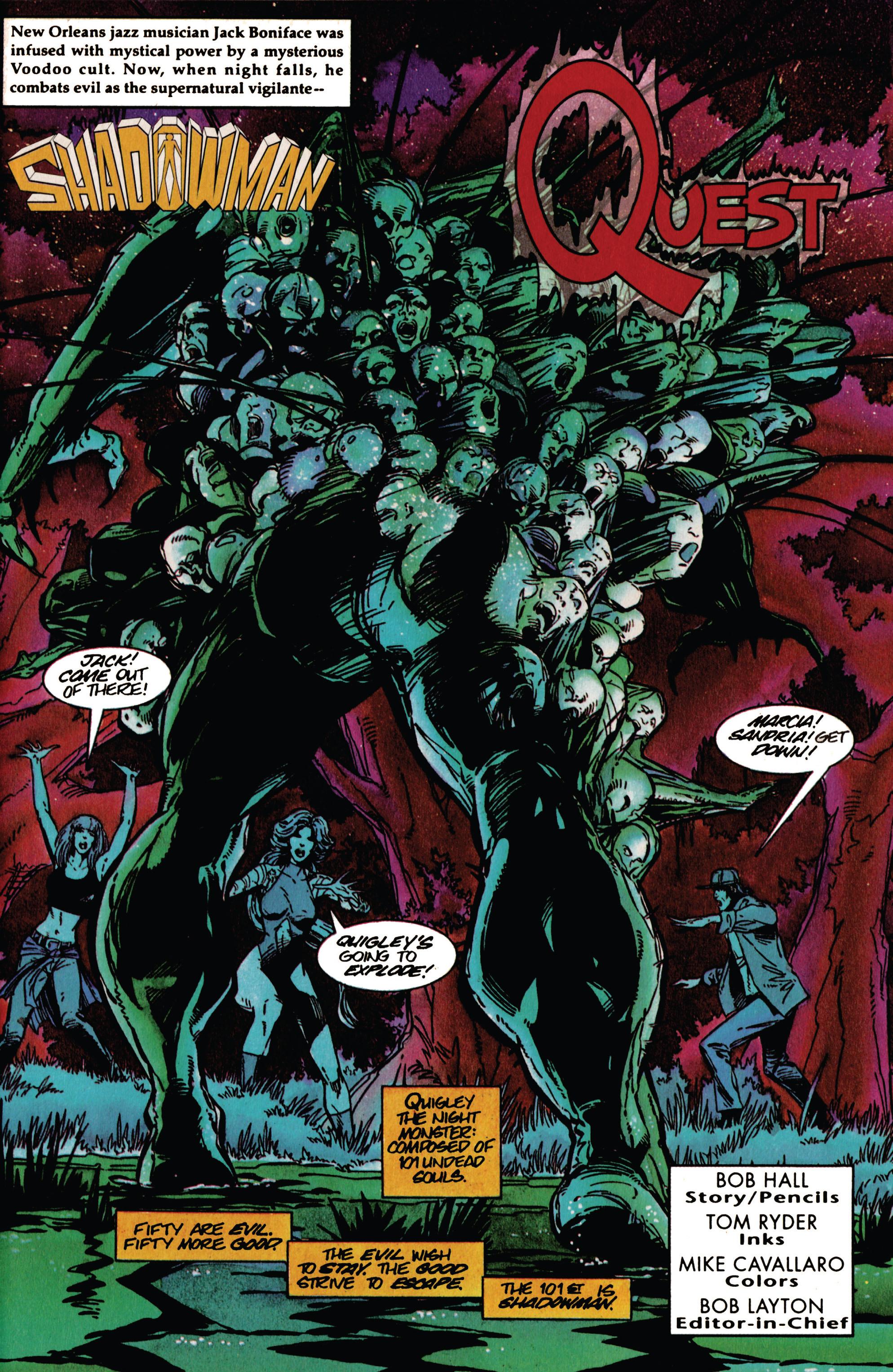 Read online Shadowman (1992) comic -  Issue #33 - 2
