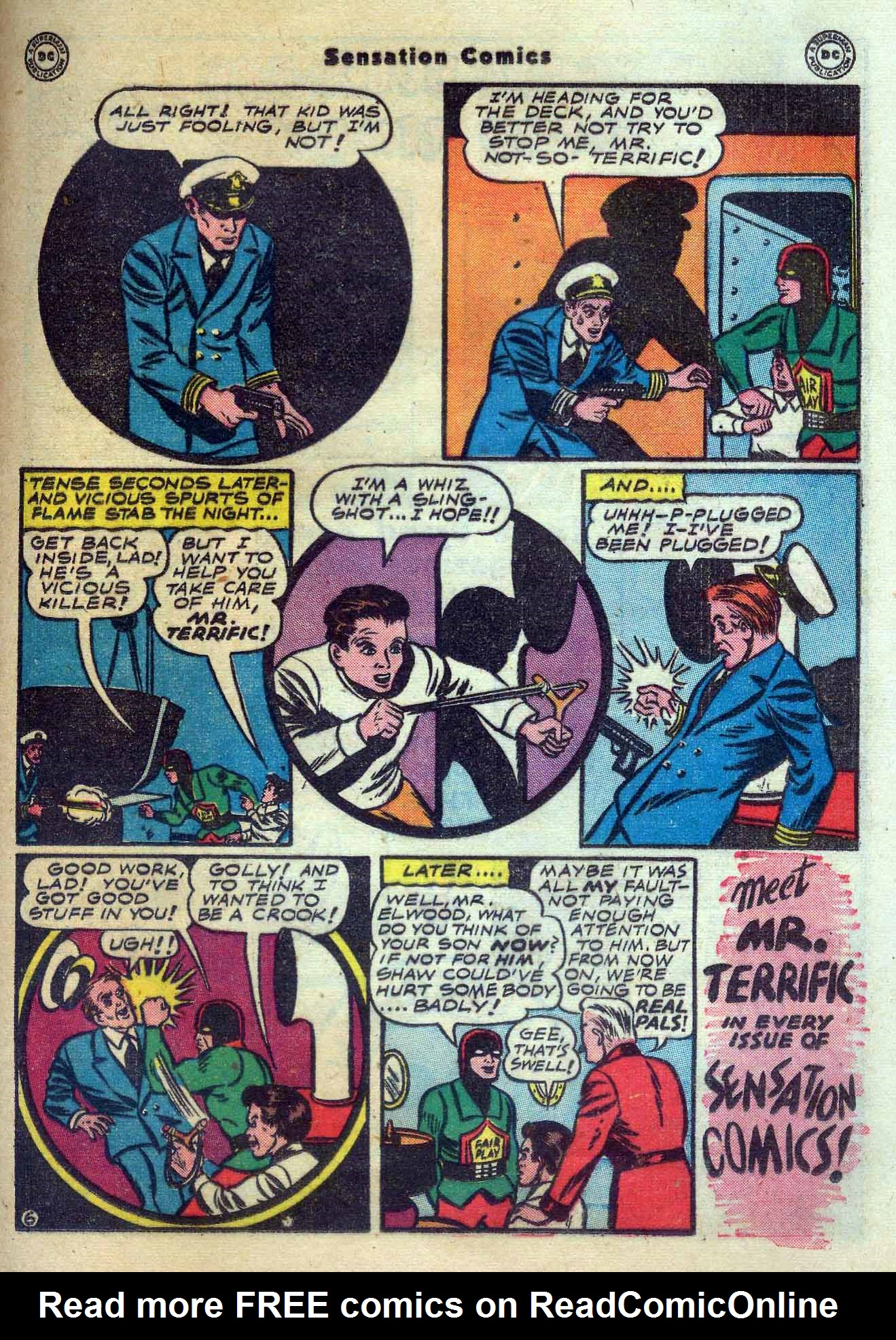 Read online Sensation (Mystery) Comics comic -  Issue #56 - 37