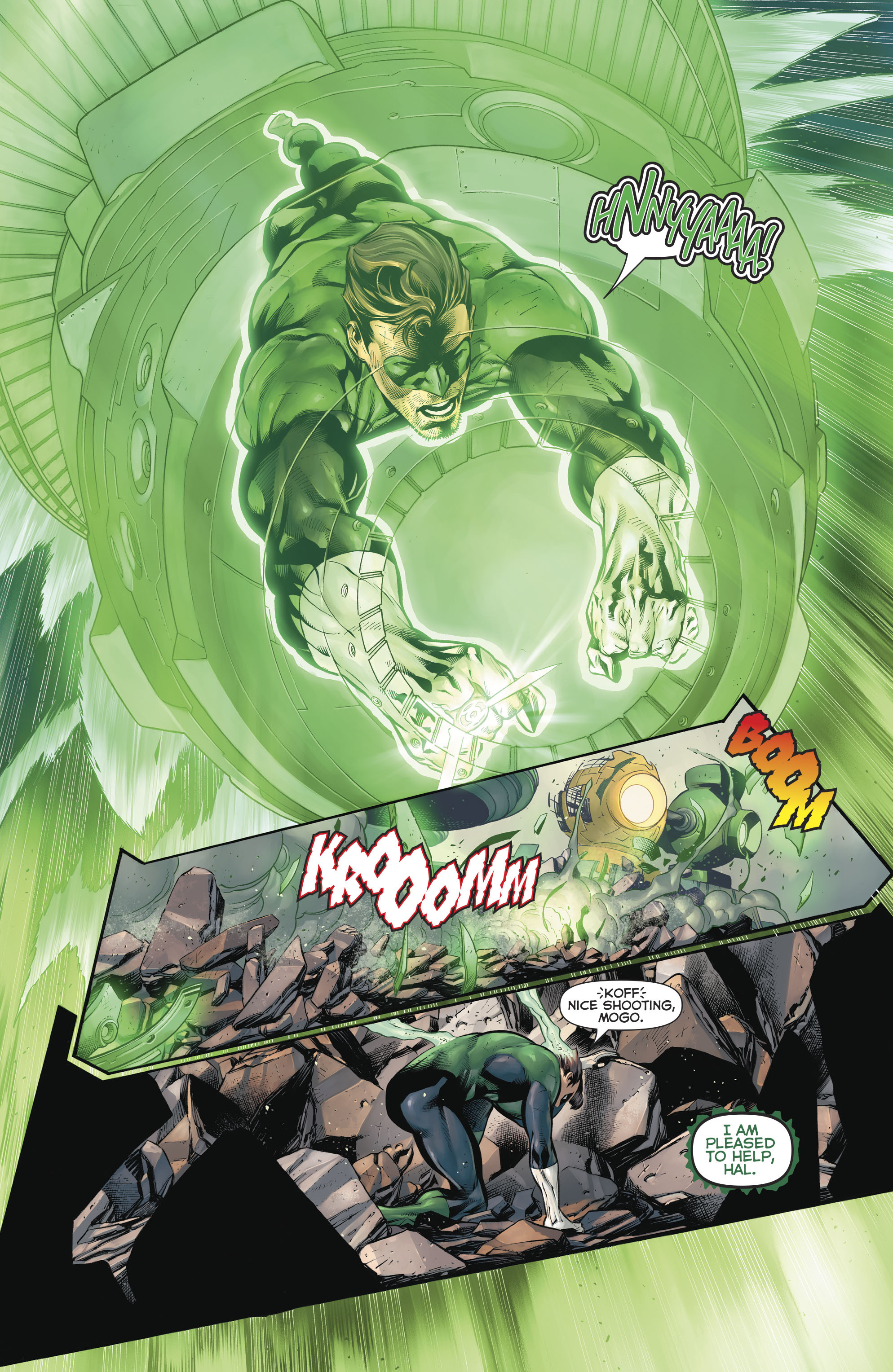Read online Hal Jordan And The Green Lantern Corps comic -  Issue #20 - 12