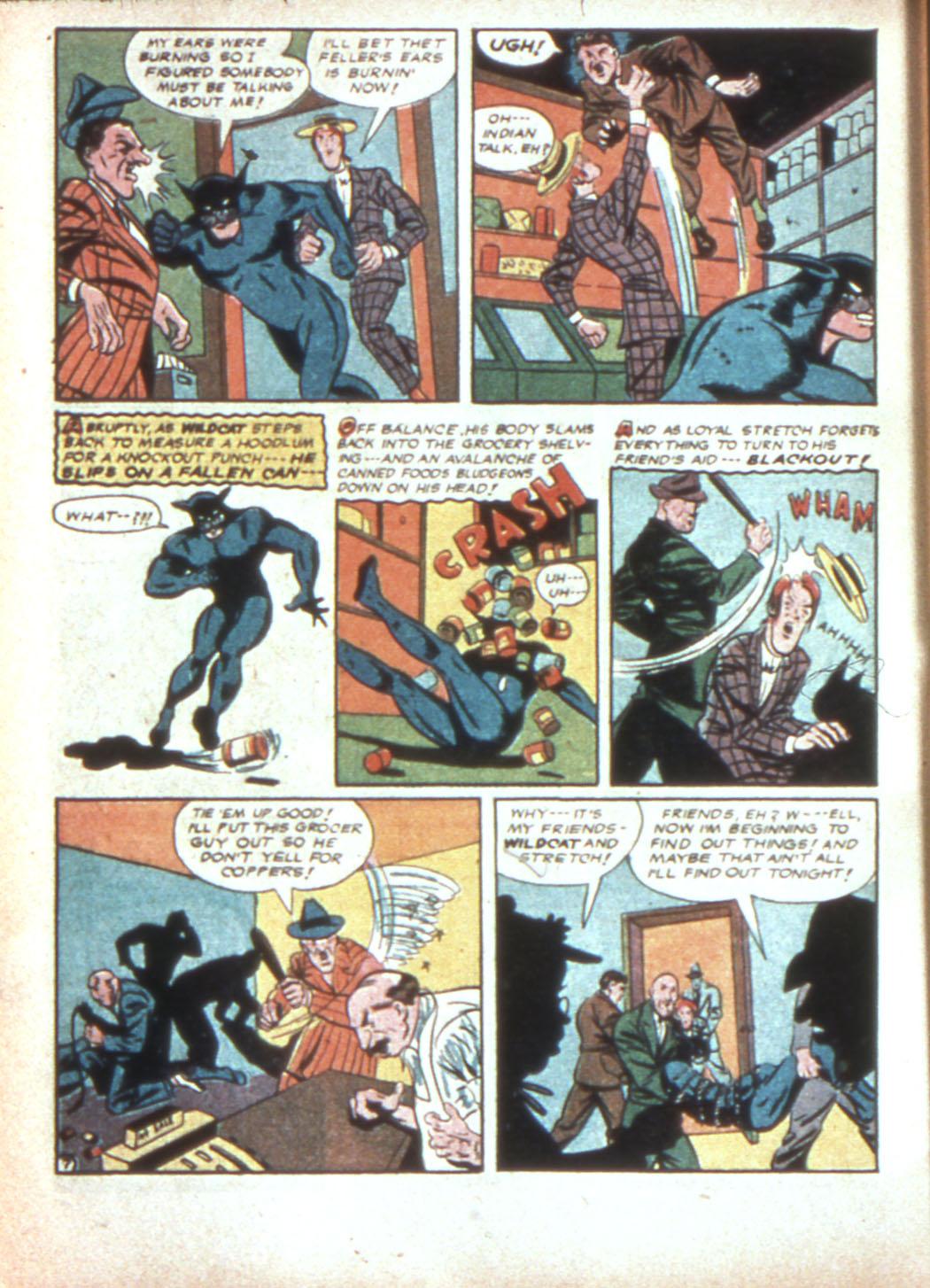 Read online Sensation (Mystery) Comics comic -  Issue #19 - 56