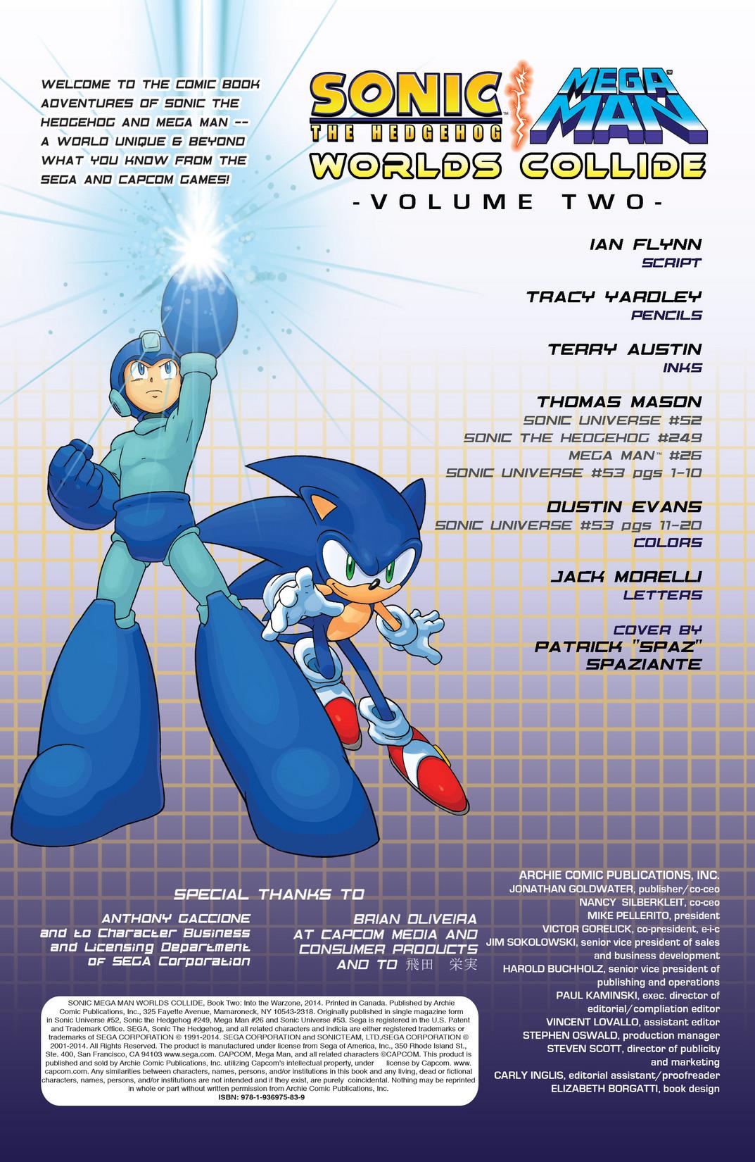 Read online Sonic Mega Man Worlds Collide comic -  Issue # Vol 2 - 3