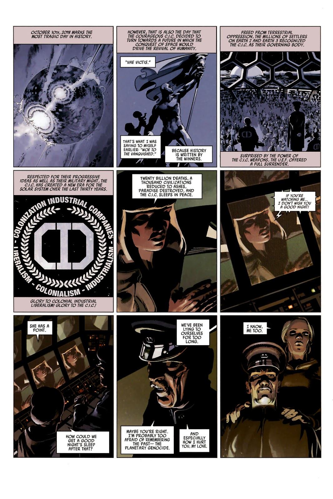 Read online Universal War One: Revelations comic -  Issue #2 - 27