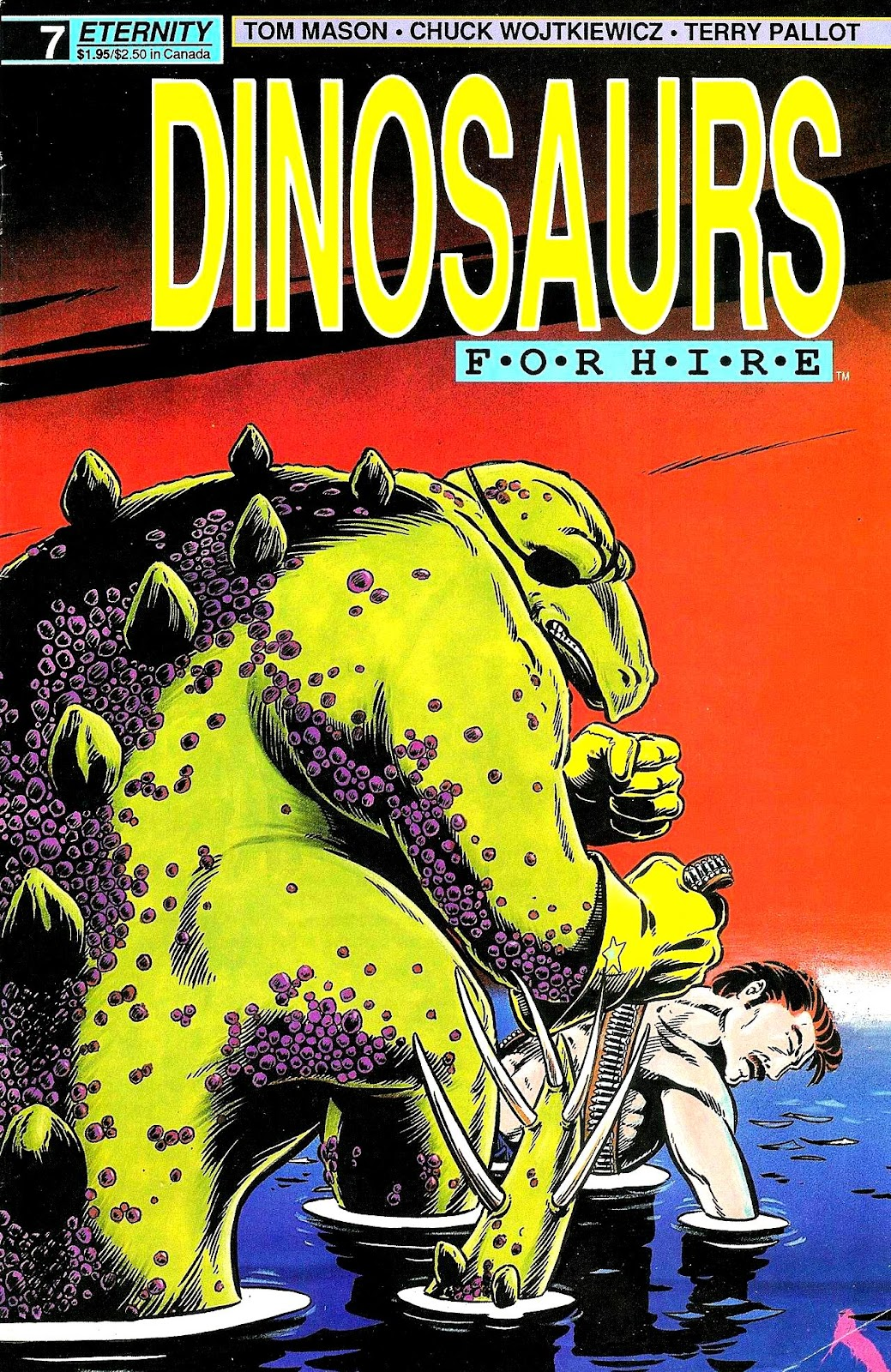 Dinosaurs For Hire (1988) issue 7 - Page 1