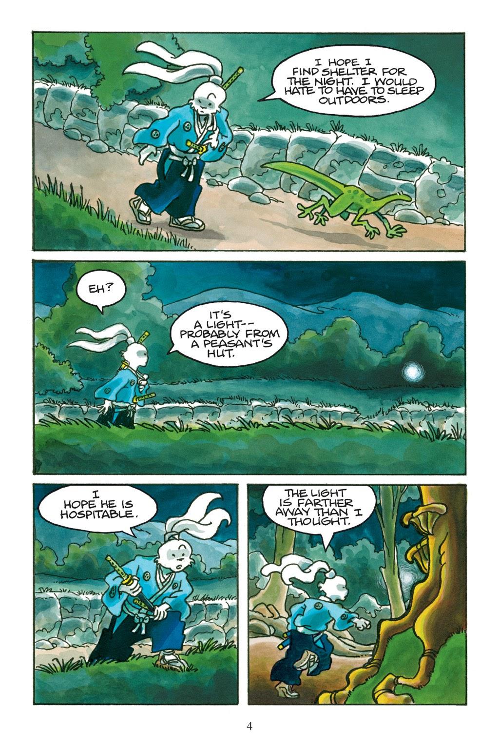 Read online Usagi Yojimbo: Yokai comic -  Issue # Full - 5