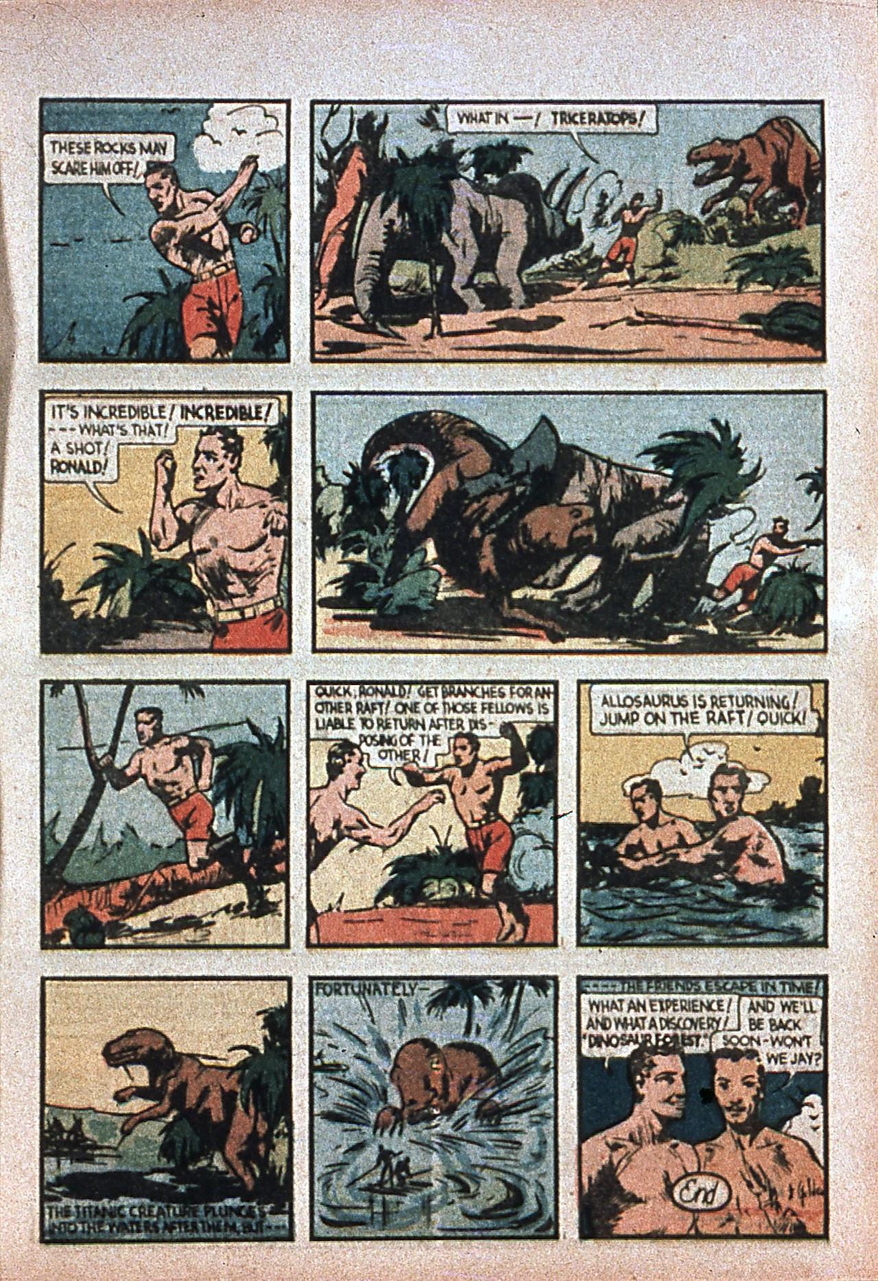 Read online Amazing Man Comics comic -  Issue #7 - 16