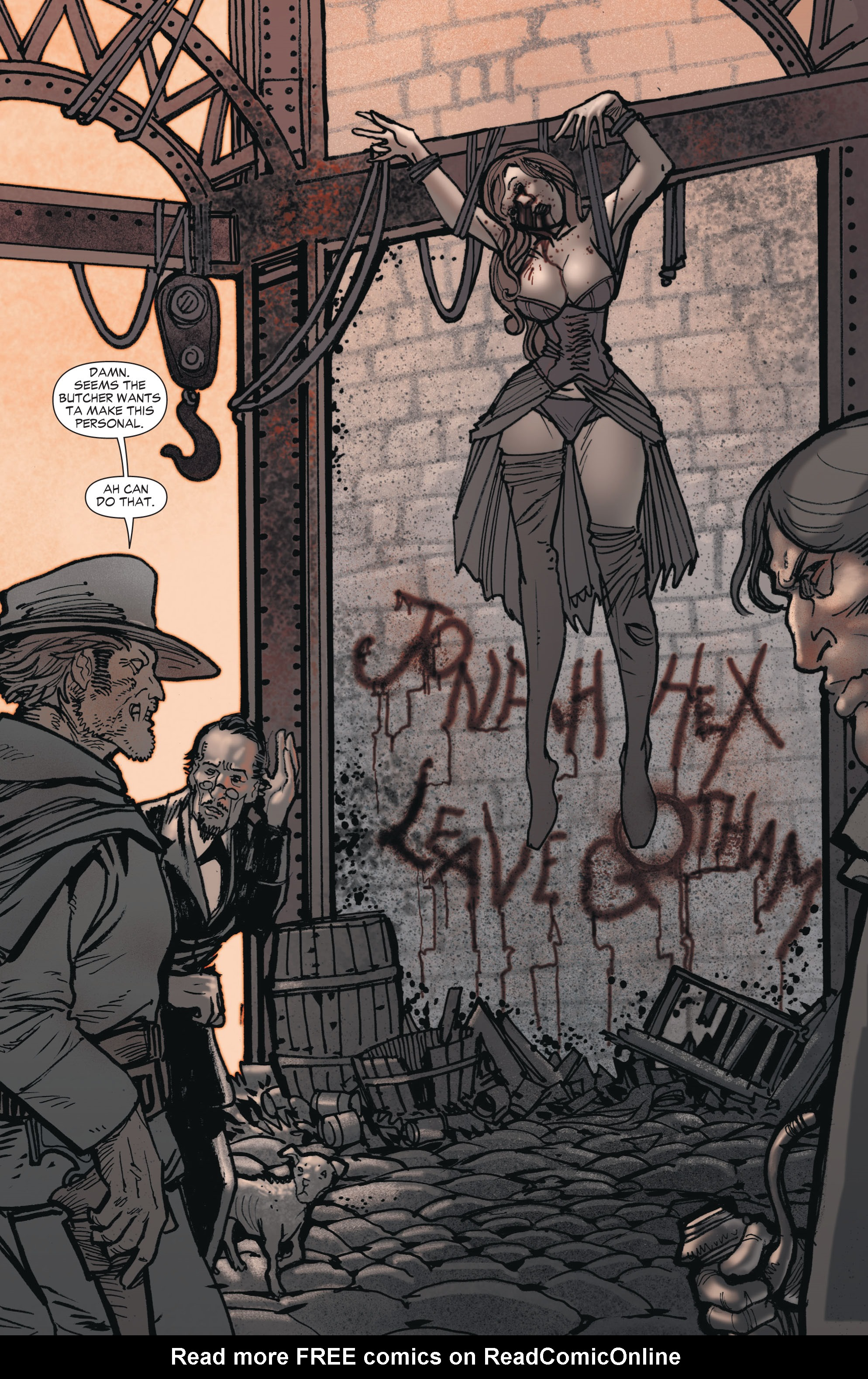 Read online All-Star Western (2011) comic -  Issue #1 - 21