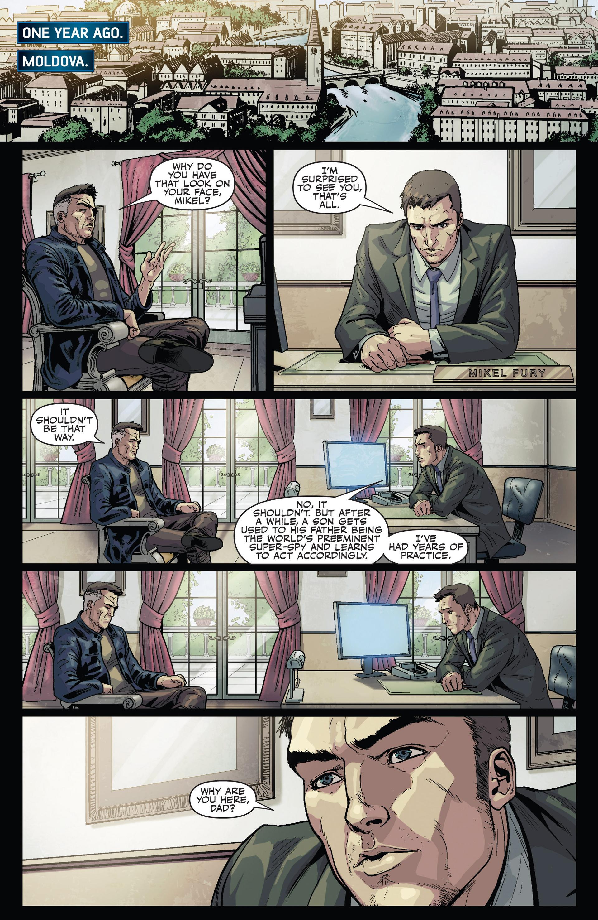 Read online Secret Warriors comic -  Issue #24 - 5