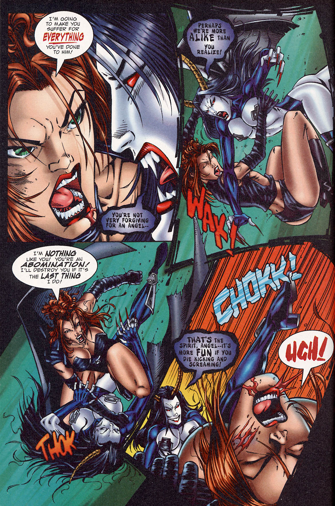 Read online Avengelyne (1995) comic -  Issue #3 - 14