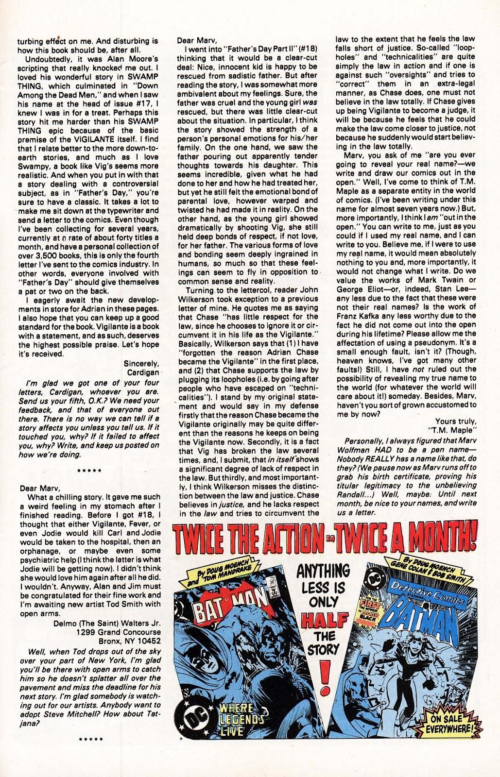 Vigilante (1983) issue 22 - Page 26