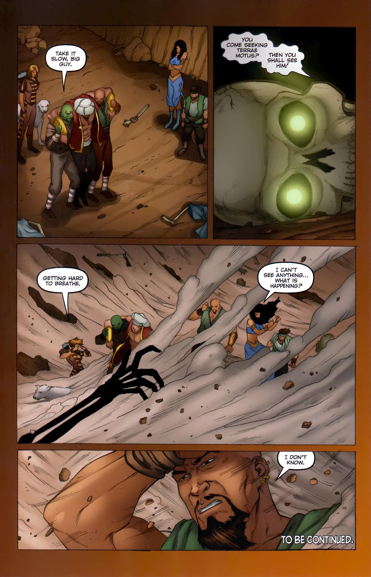 Read online 1001 Arabian Nights: The Adventures of Sinbad comic -  Issue #11 - 24