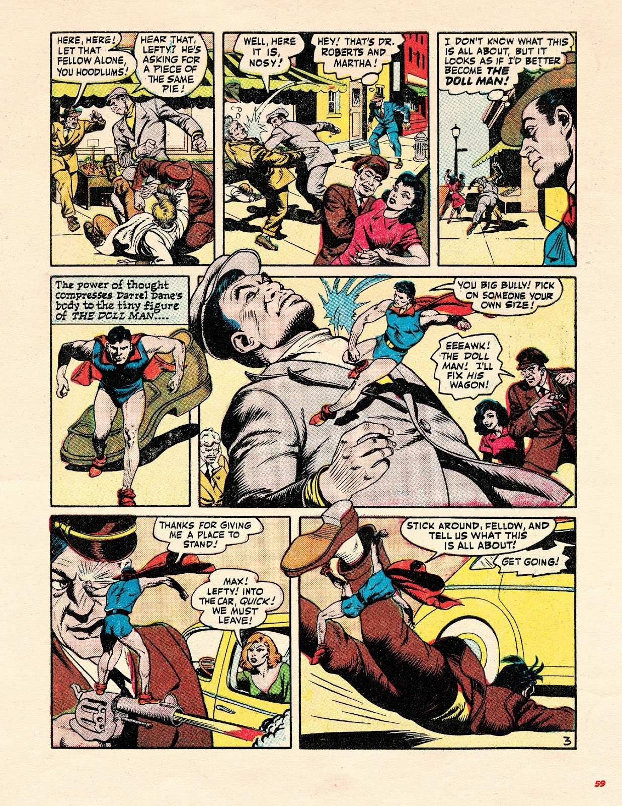 Read online Super Weird Heroes comic -  Issue # TPB 2 (Part 1) - 59
