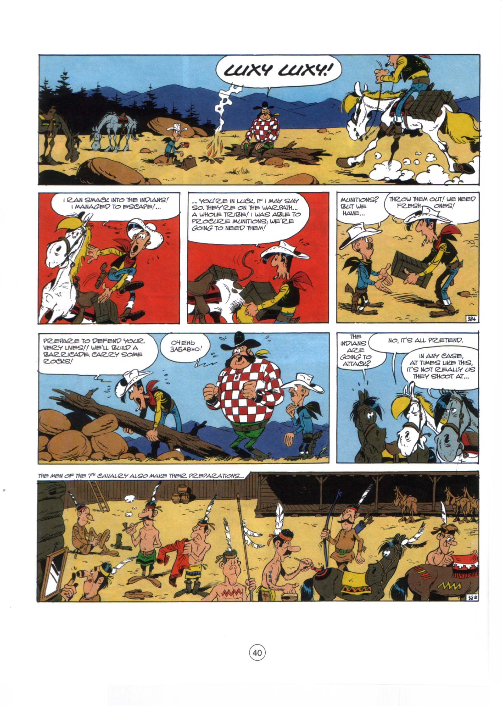 Read online A Lucky Luke Adventure comic -  Issue #29 - 39