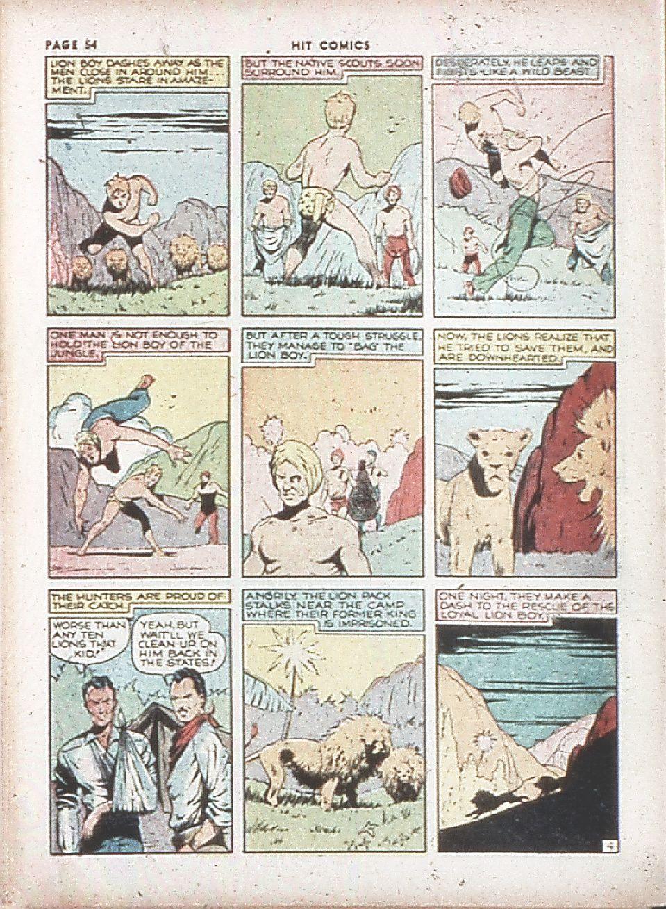 Read online Hit Comics comic -  Issue #7 - 56
