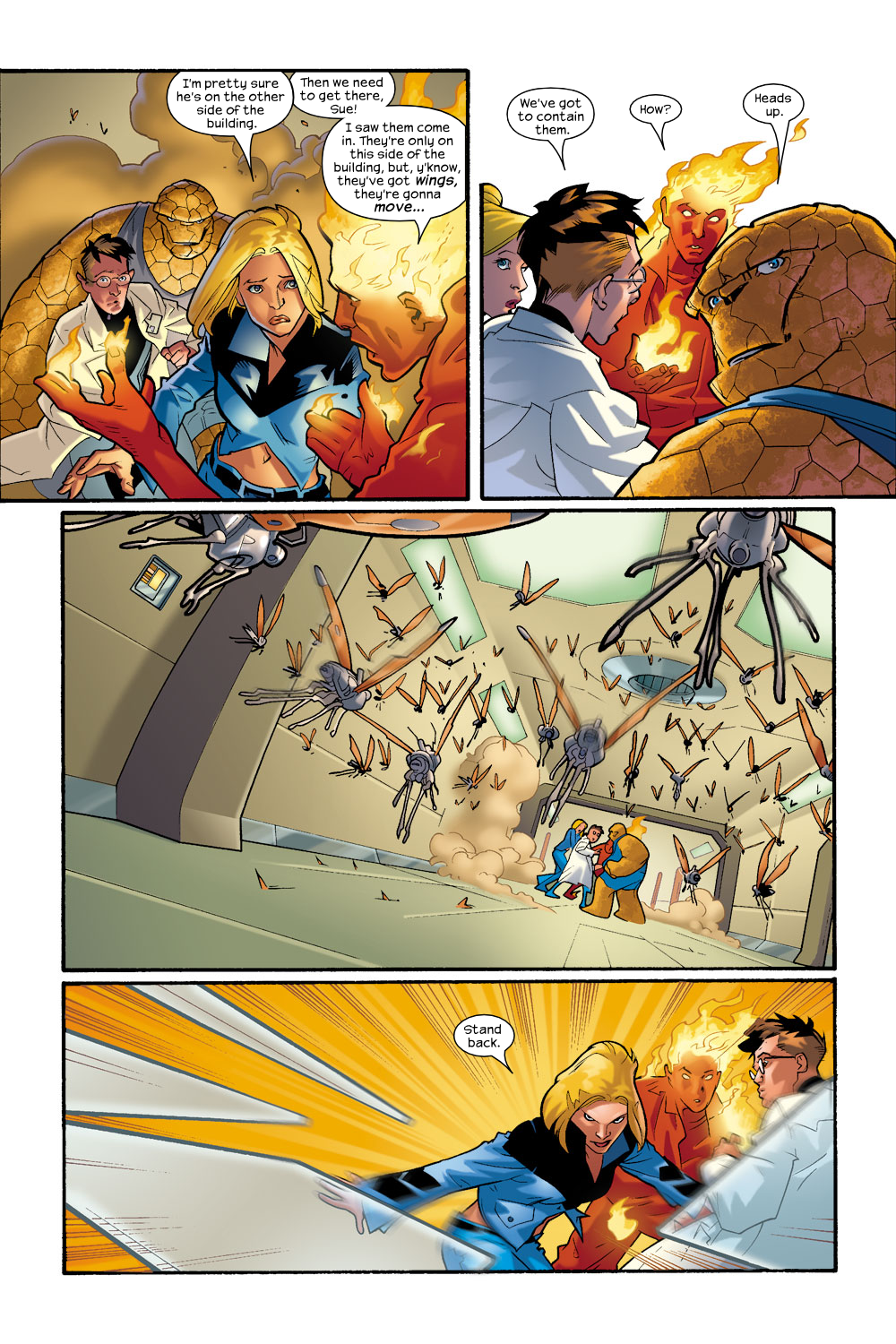 Read online Ultimate Fantastic Four (2004) comic -  Issue #9 - 6