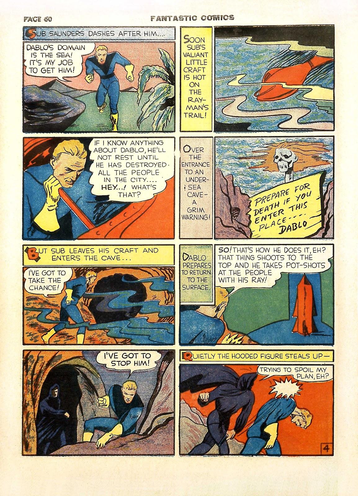 Read online Fantastic Comics comic -  Issue #11 - 63