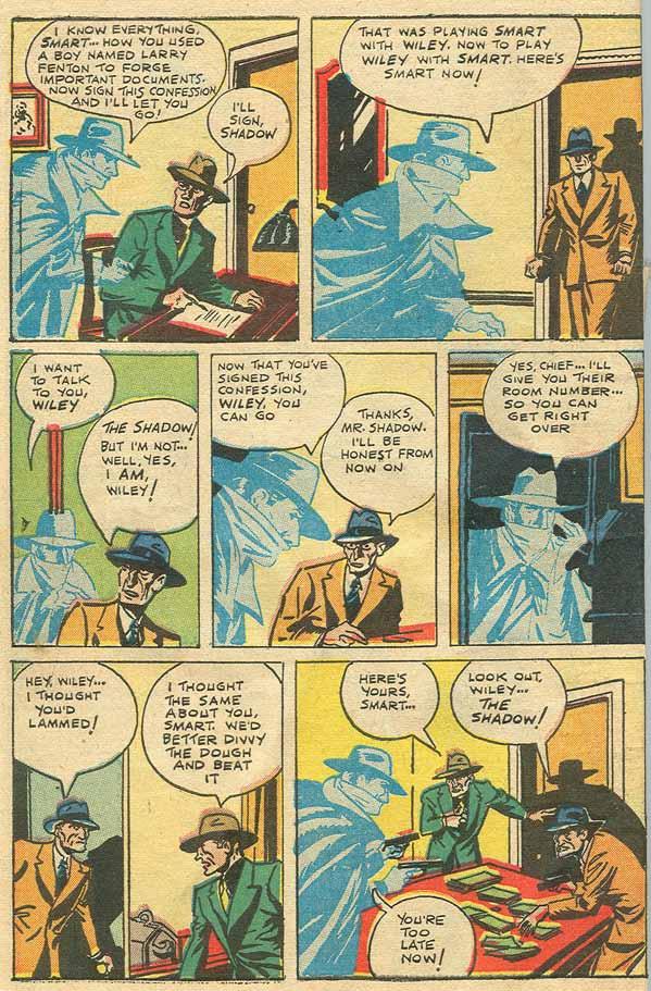 Read online Shadow Comics comic -  Issue #79 - 44