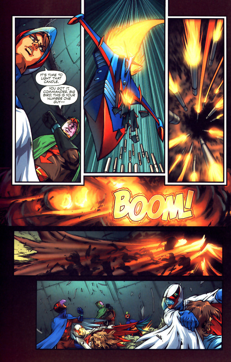 Battle of the Planets Issue #12 #14 - English 35