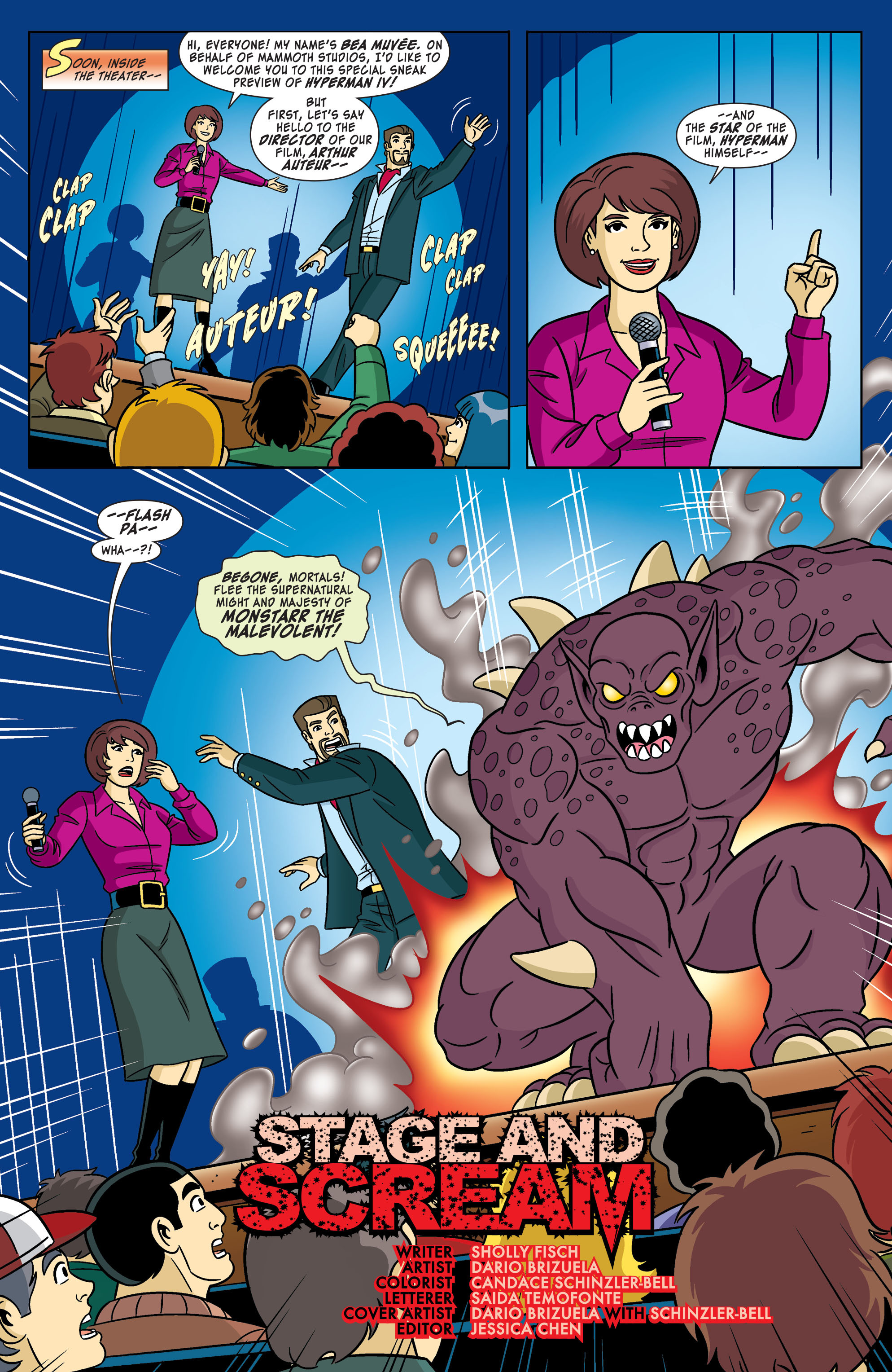 Read online Scooby-Doo: Where Are You? comic -  Issue #55 - 3