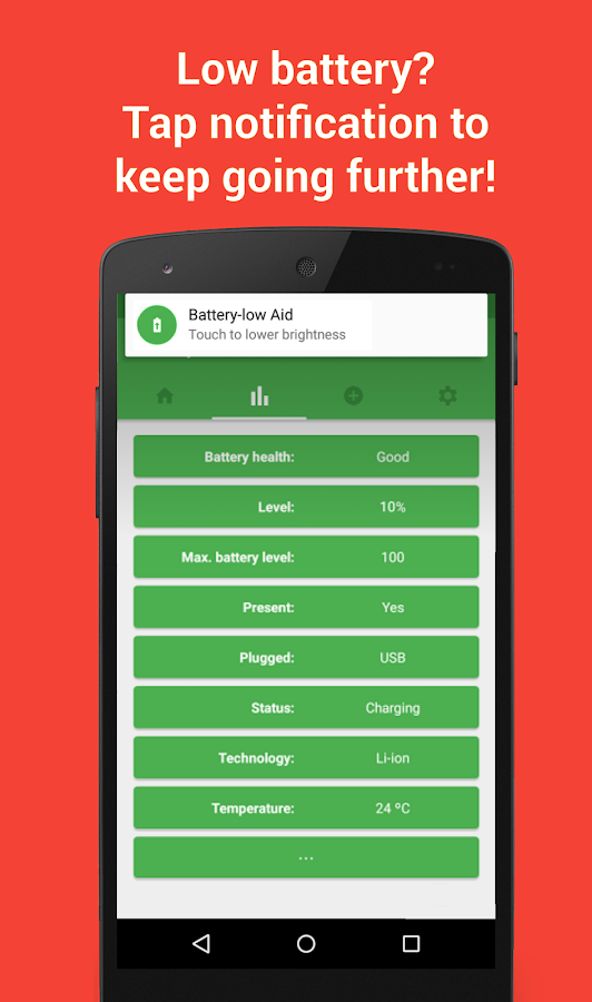Preview Green Battery Saver & Manager 2