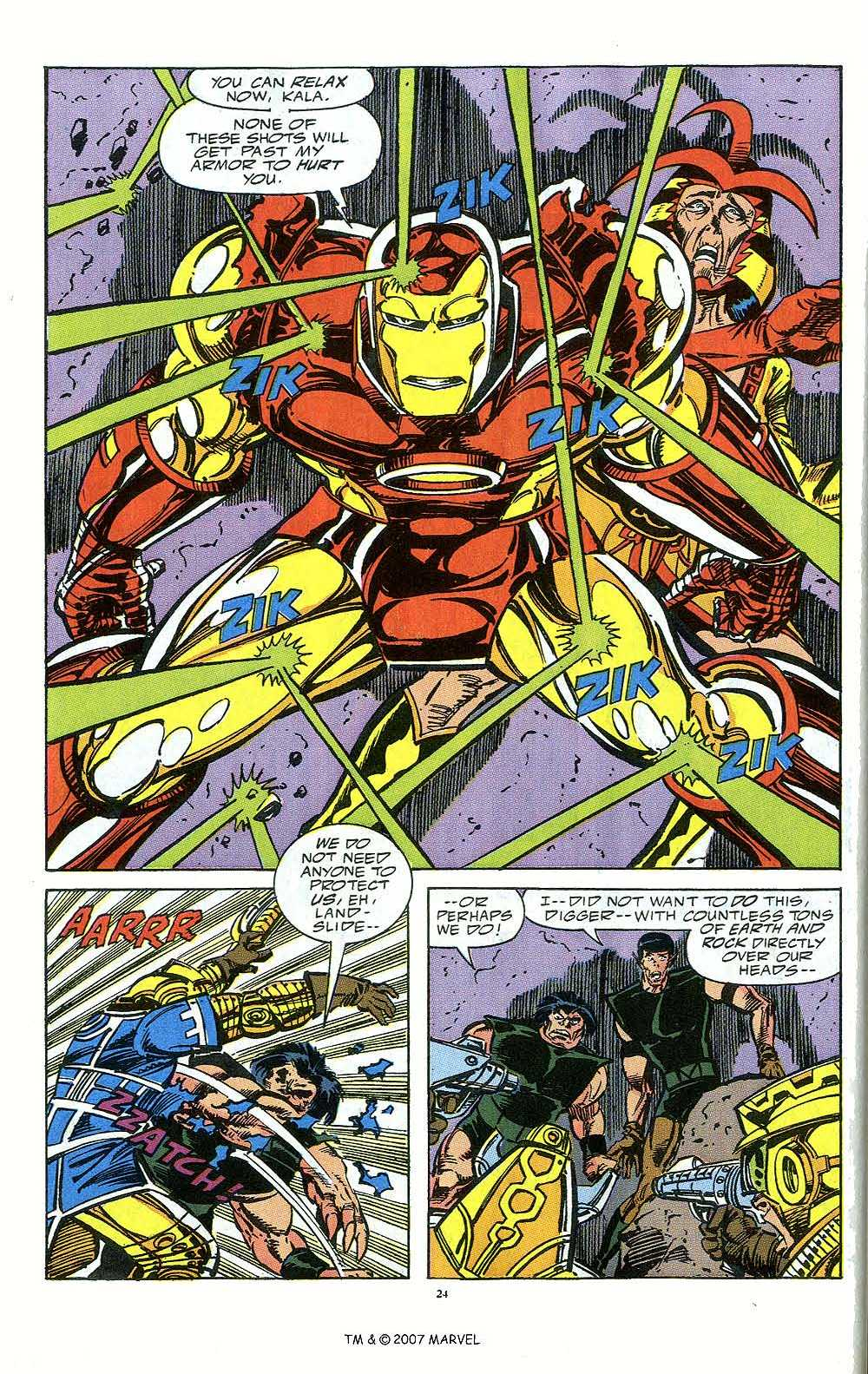 Iron Man Annual issue 12 - Page 26