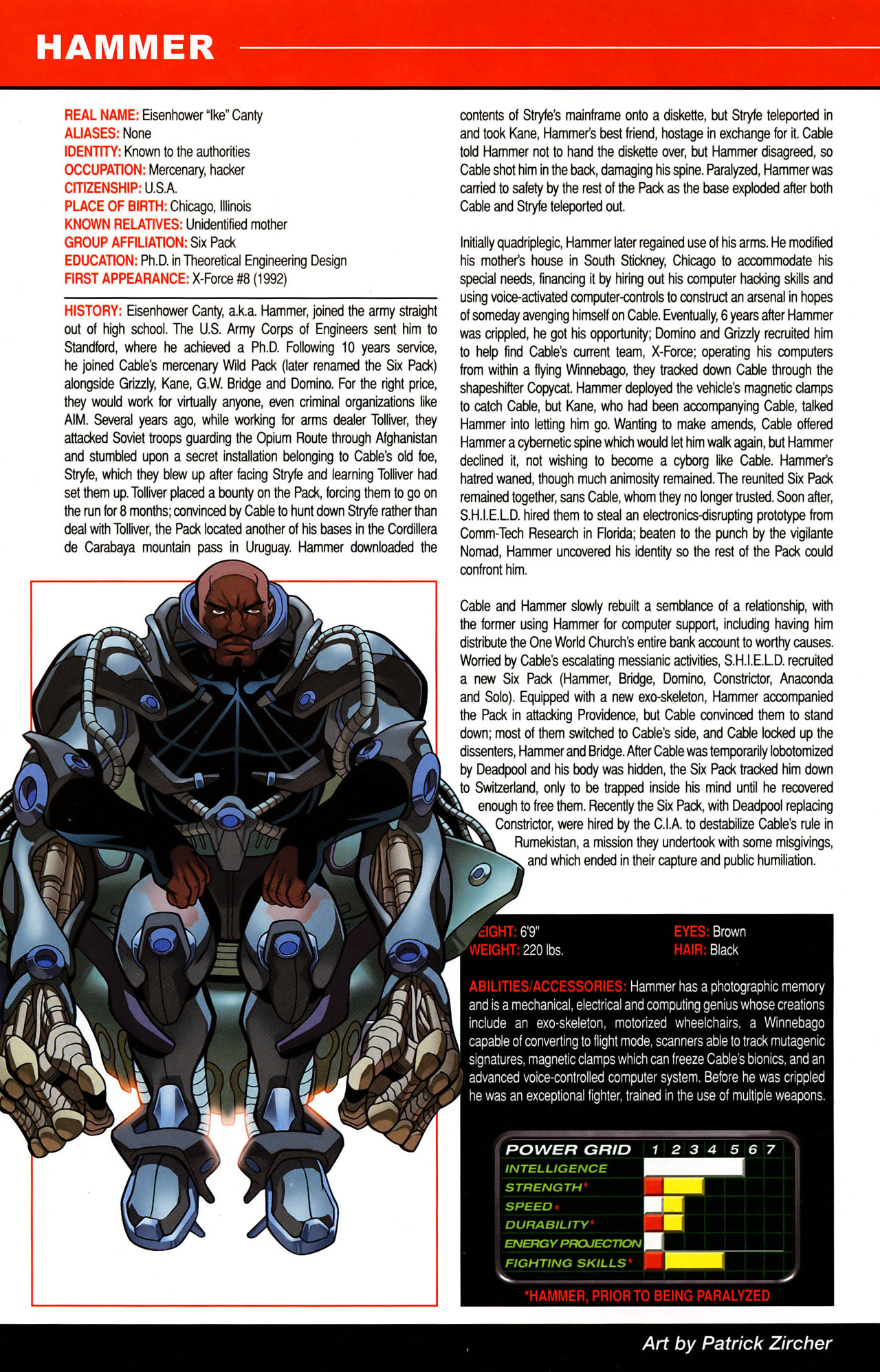 Read online All-New Official Handbook of the Marvel Universe A to Z: Update comic -  Issue #1 - 17