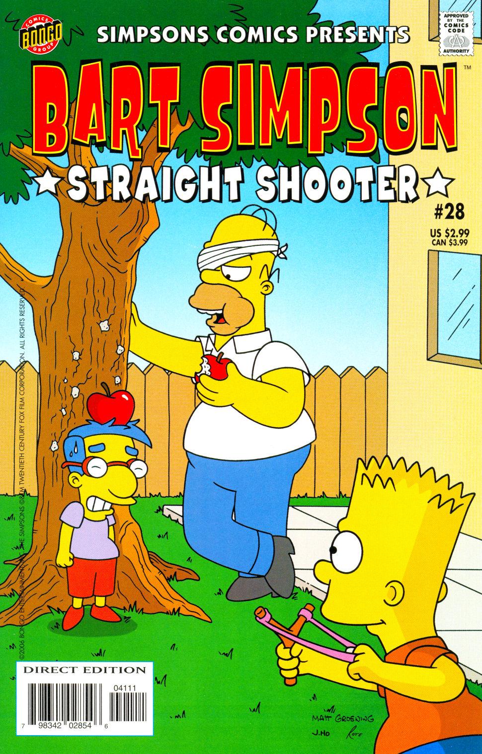 Simpsons Comics Presents Bart Simpson 28 Page 1