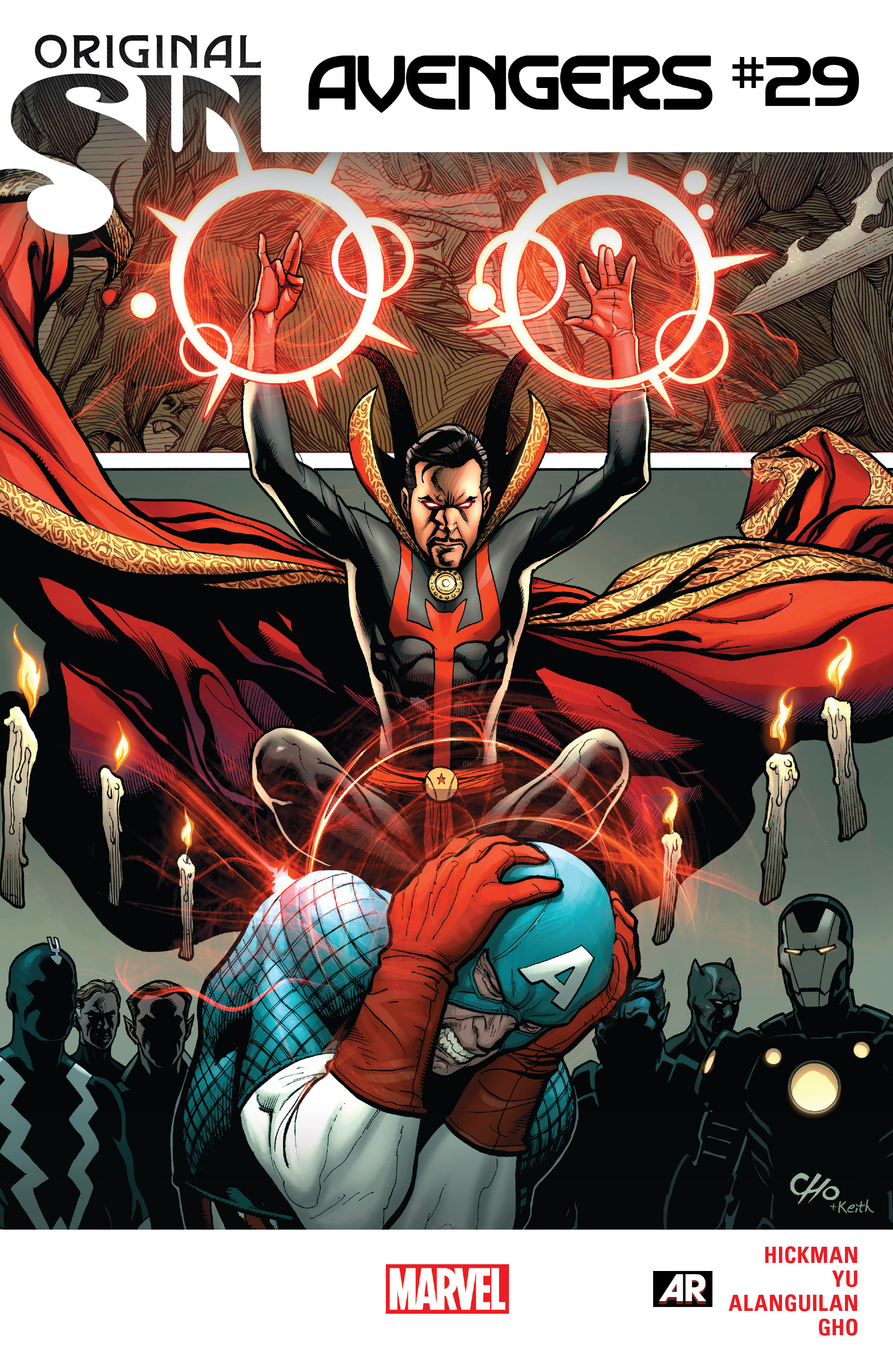 Read online Avengers (2013) comic -  Issue #29 - 1