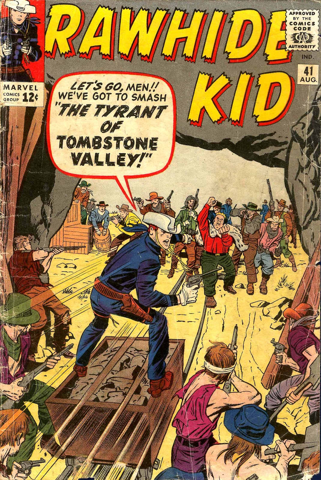 The Rawhide Kid (1955) issue 41 - Page 1