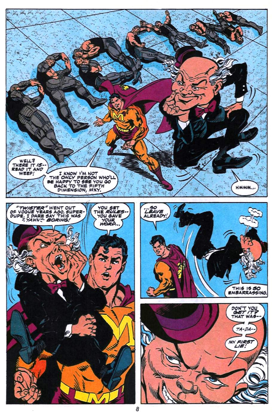 Read online Adventures of Superman (1987) comic -  Issue #496 - 9