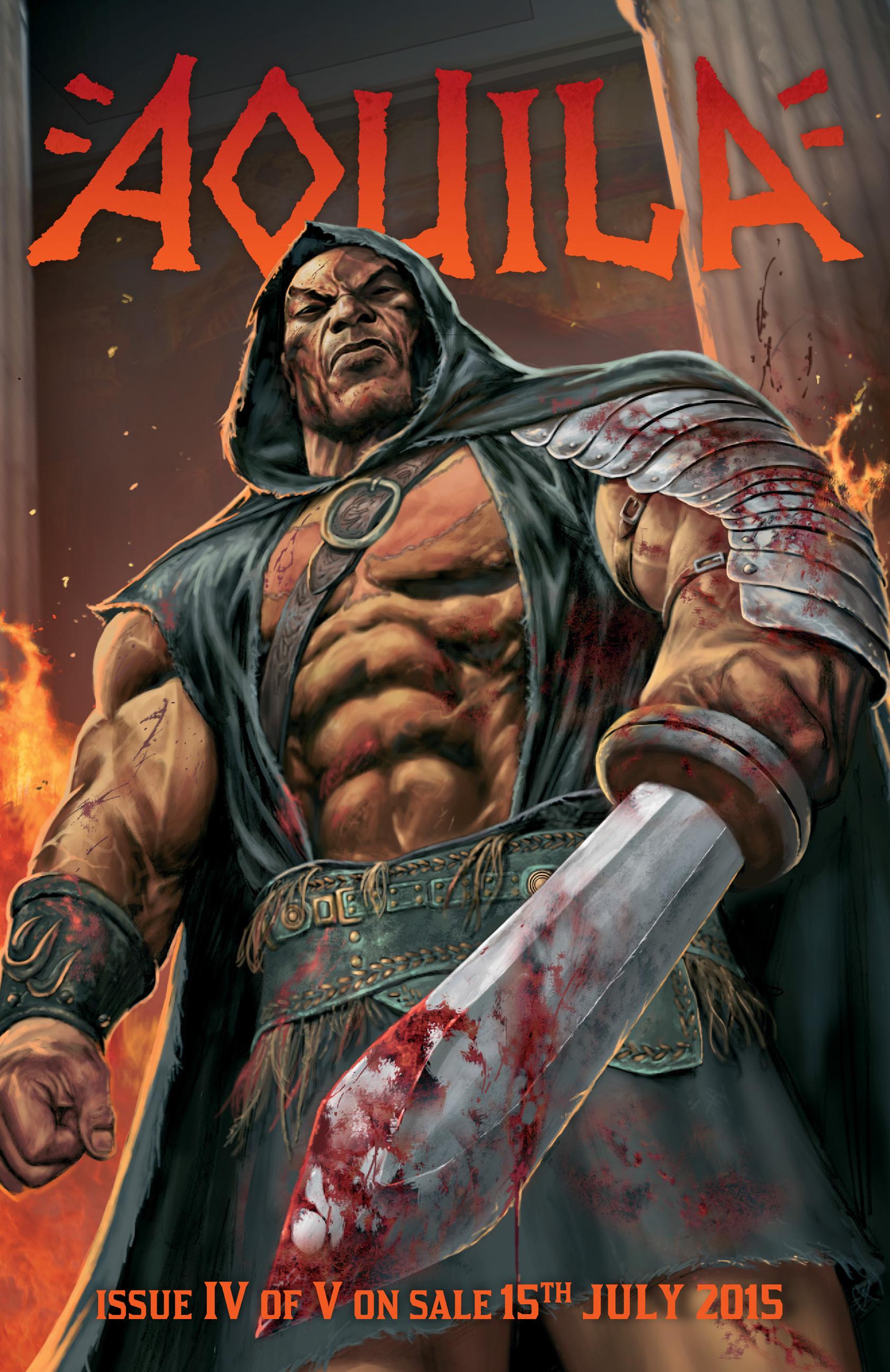 Read online Aquila comic -  Issue #3 - 35