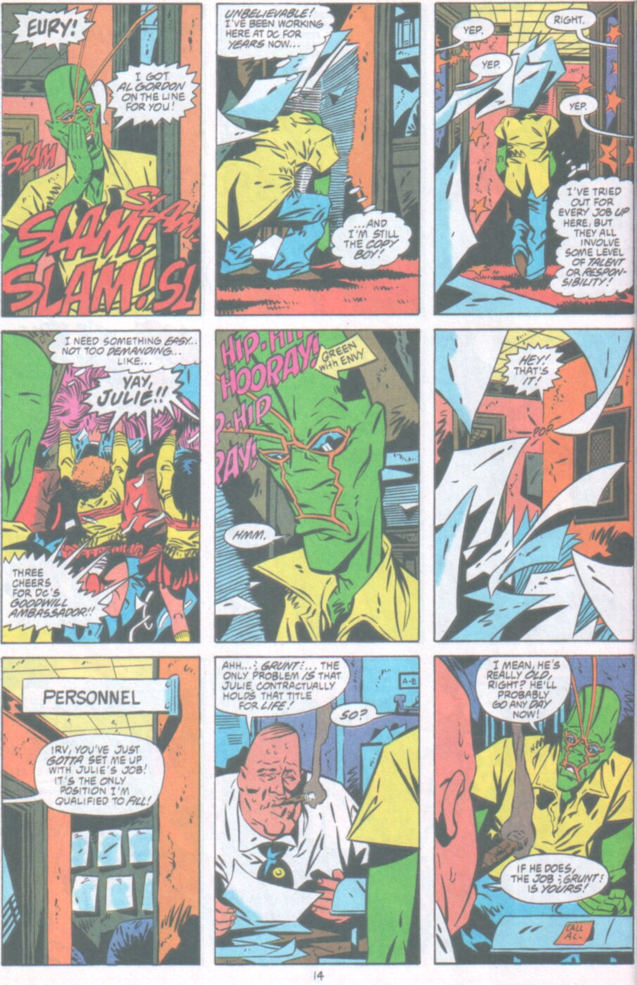 Read online Ambush Bug Nothing Special comic -  Issue # Full - 15