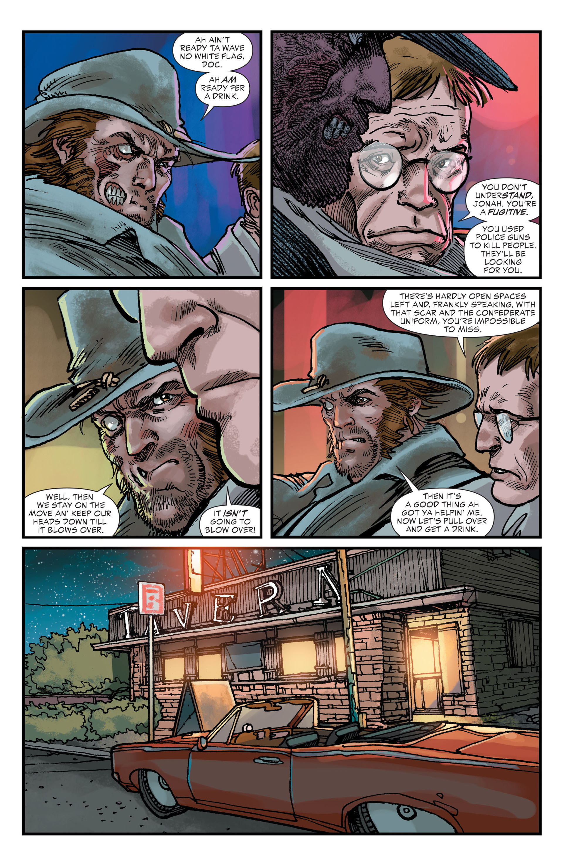 Read online All-Star Western (2011) comic -  Issue #23 - 7