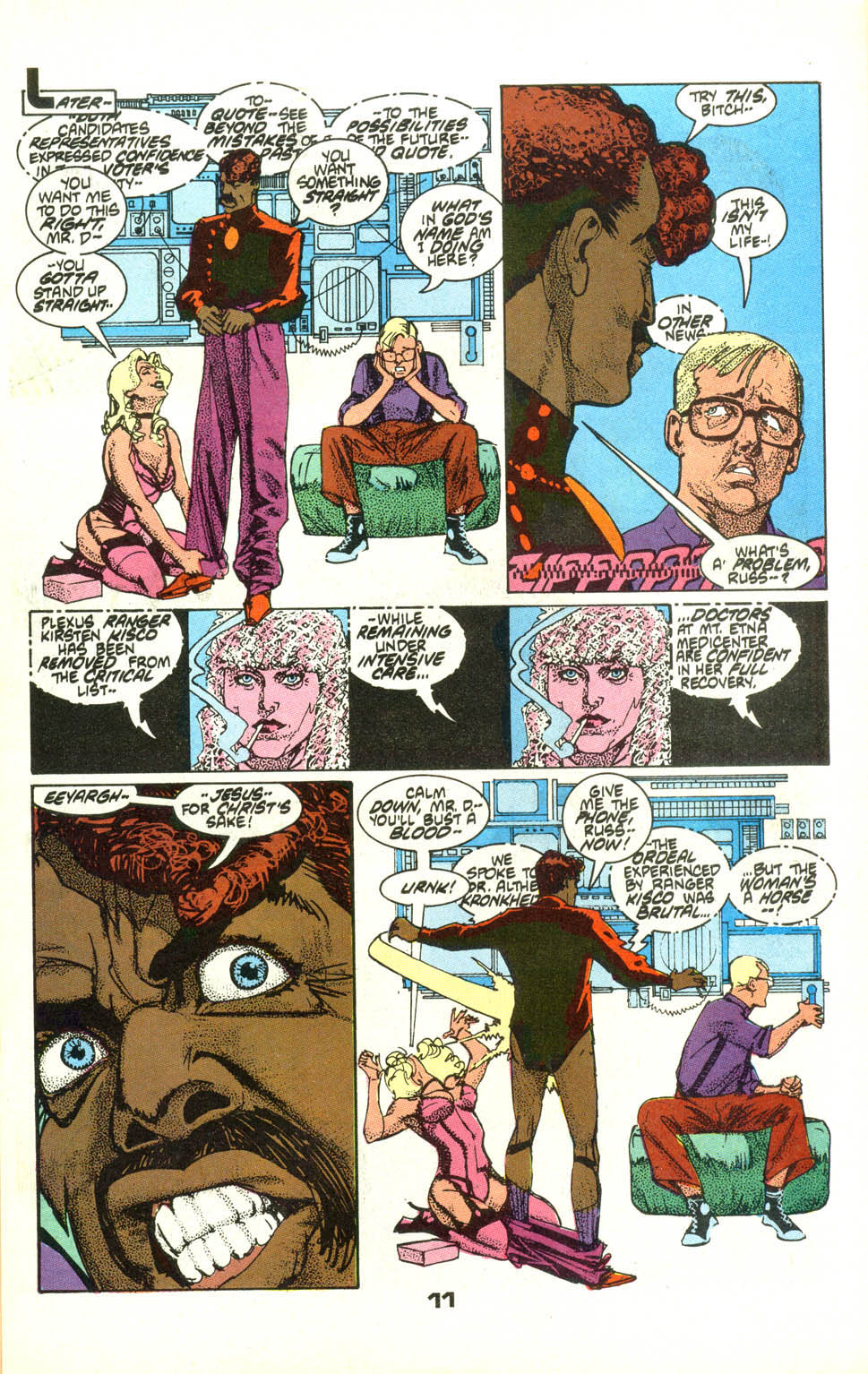 Read online American Flagg! comic -  Issue #22 - 13