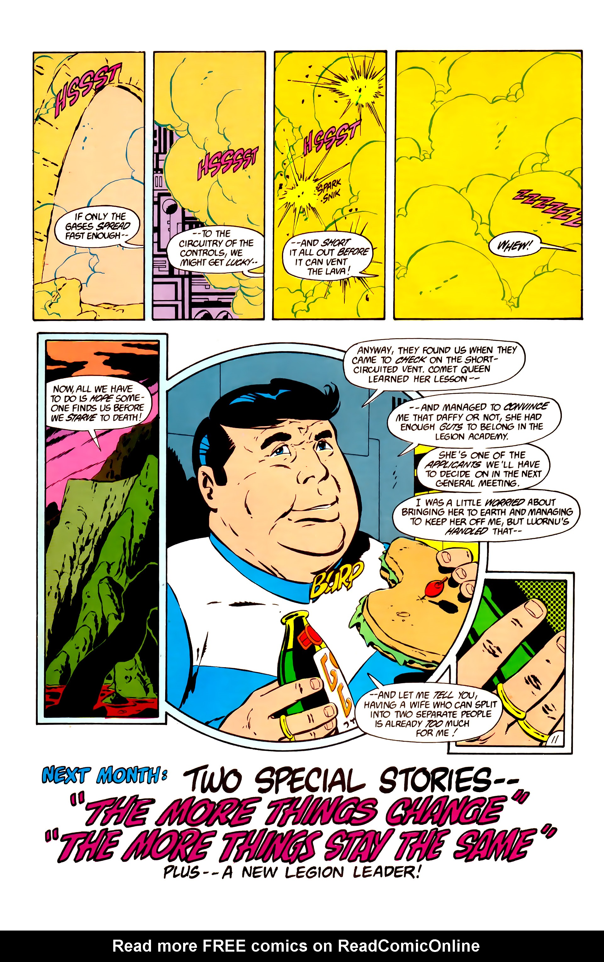 Legion of Super-Heroes (1984) 11 Page 24