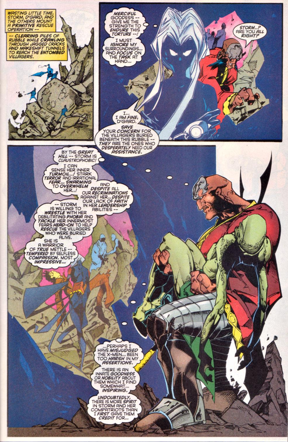 Read online Uncanny X-Men (1963) comic -  Issue # _Annual 1997 - 22