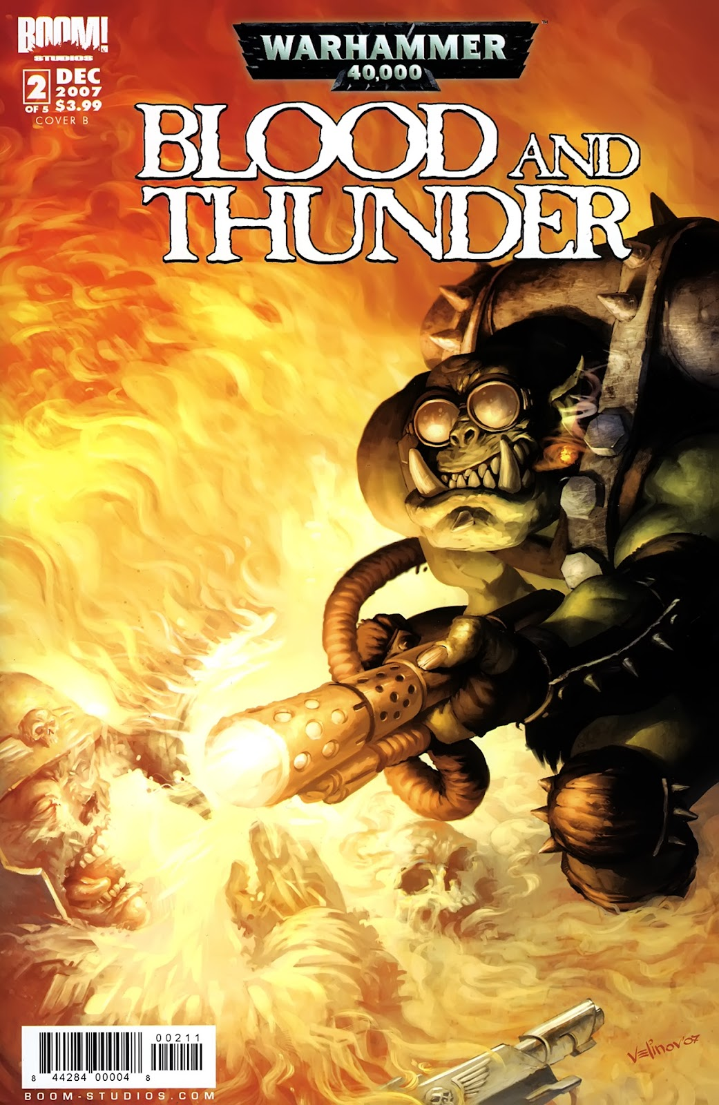 Warhammer 40,000: Blood and Thunder issue 2 - Page 1