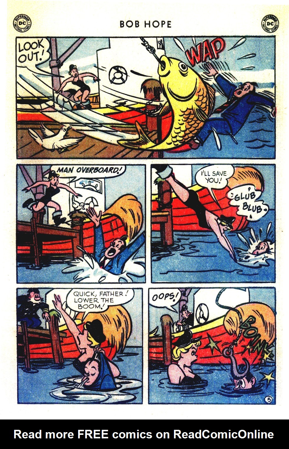 The Adventures of Bob Hope issue 27 - Page 7