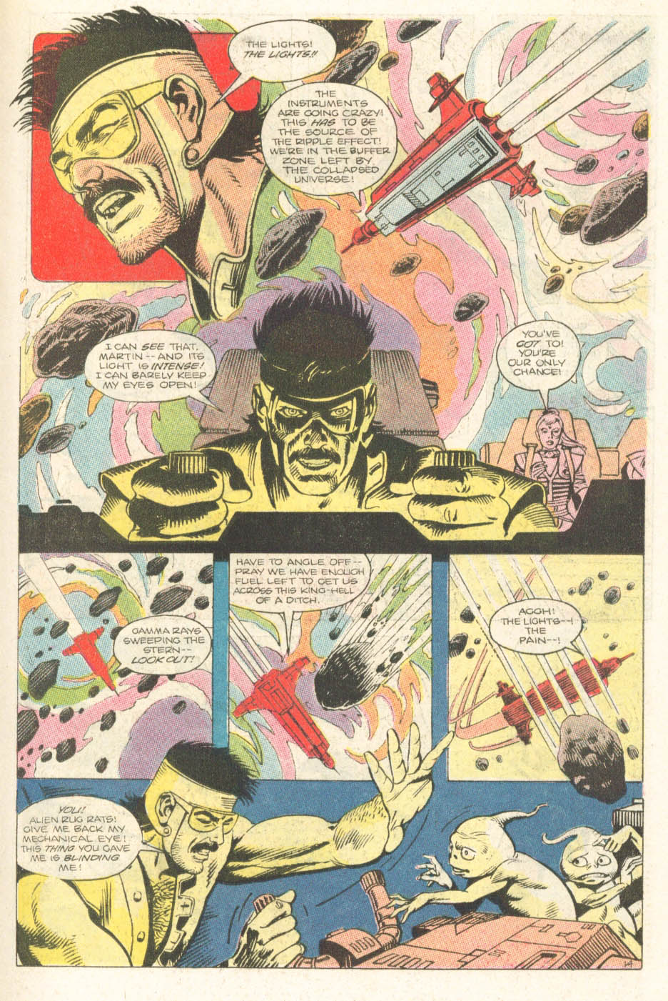 Read online Atari Force (1984) comic -  Issue #18 - 16
