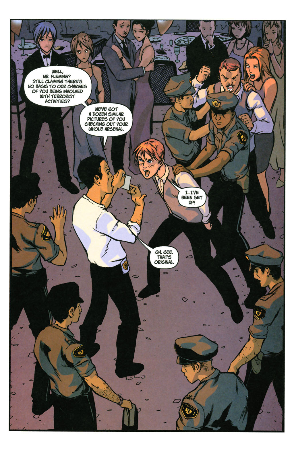 Read online SpyBoy: Final Exam comic -  Issue #3 - 3