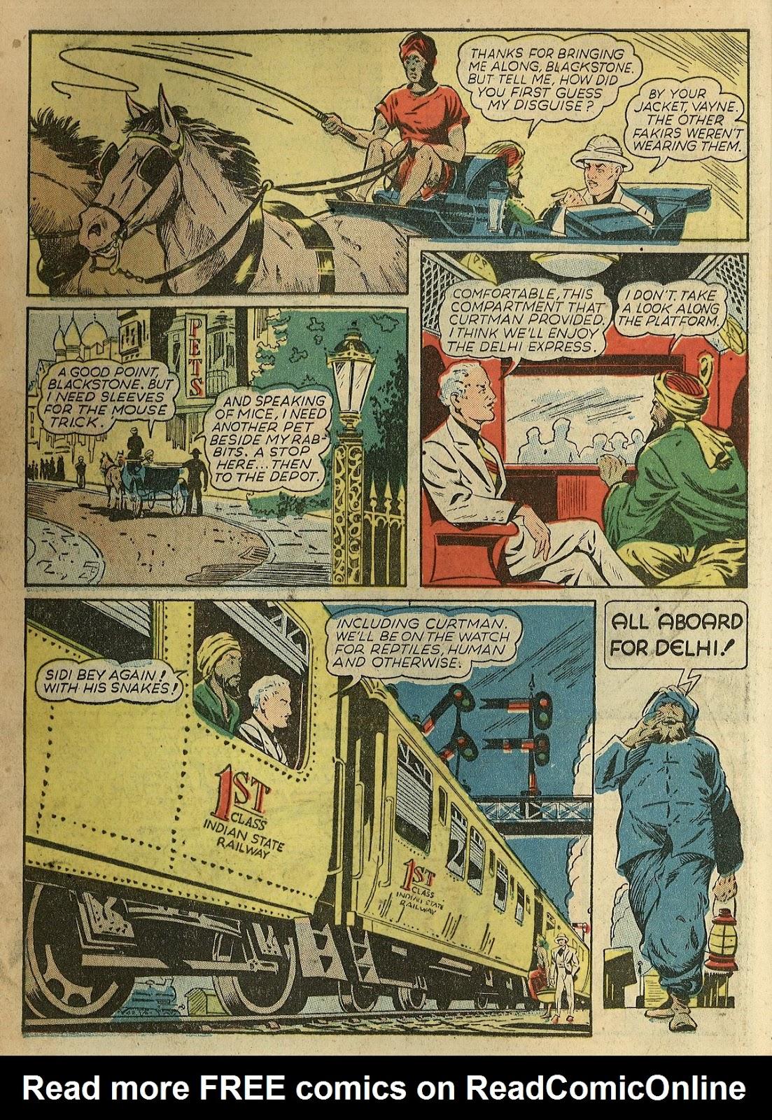 Read online Super-Magician Comics comic -  Issue #1 - 10