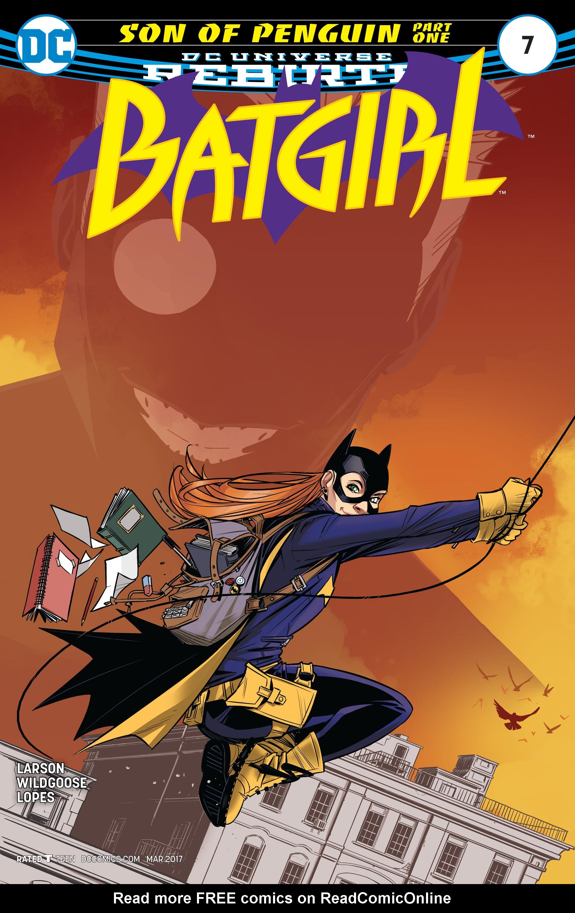 Batgirl (2016) 7 Page 1