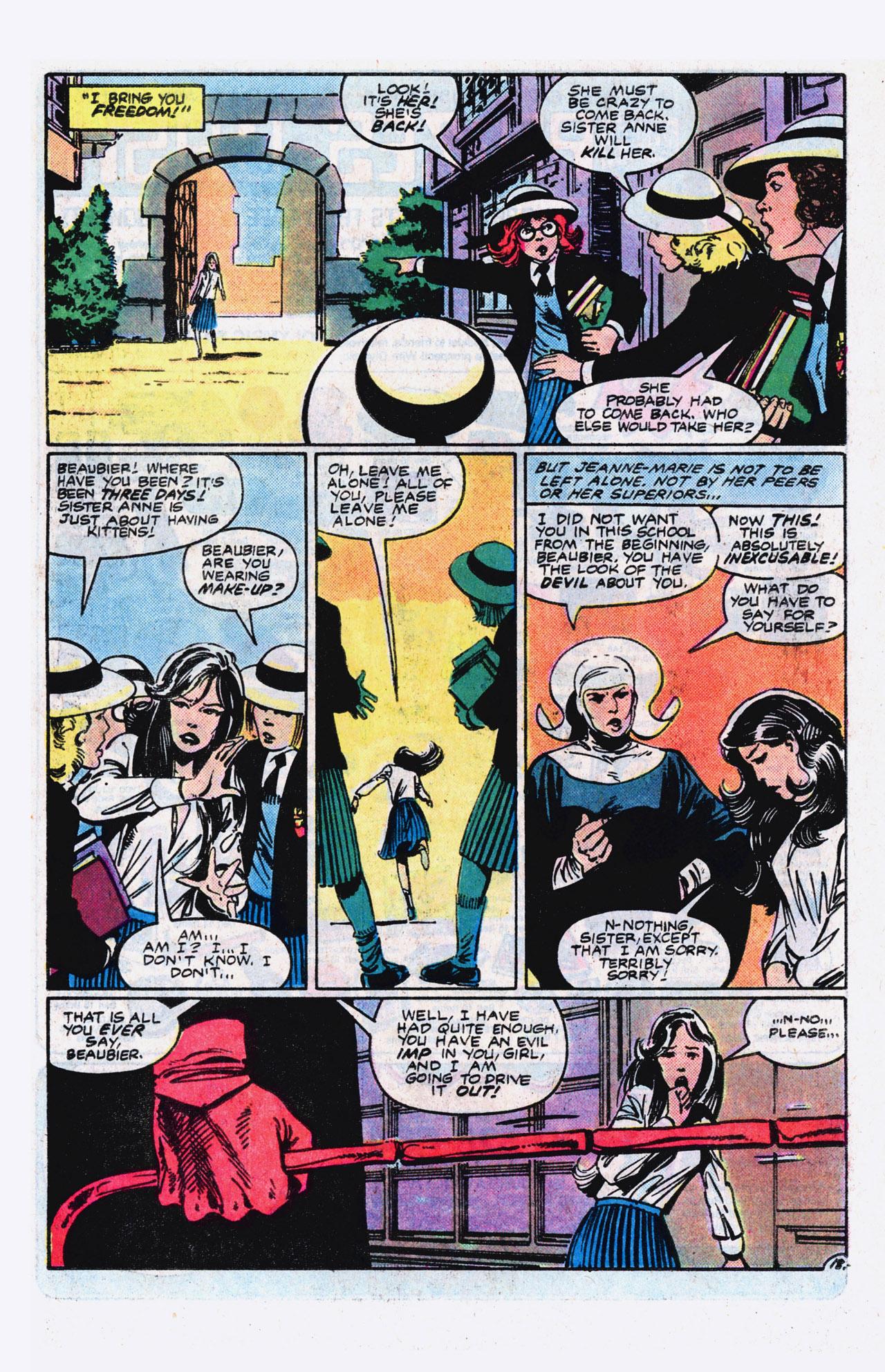 Read online Alpha Flight (1983) comic -  Issue #9 - 19